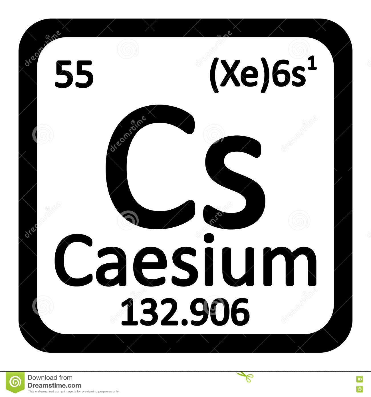 Periodic table caesium gallery periodic table images periodic table element caesium icon stock illustration image royalty free illustration download periodic table element caesium gamestrikefo Image collections
