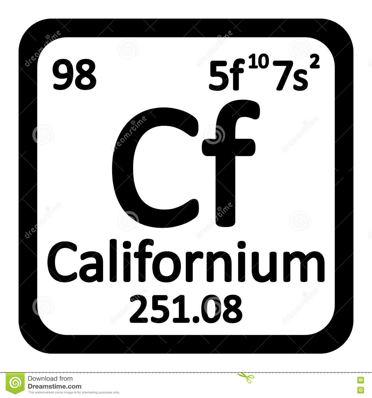 Periodic table californium choice image periodic table images periodic table element californium icon stock illustration royalty free illustration download periodic table element californium gamestrikefo gamestrikefo Images