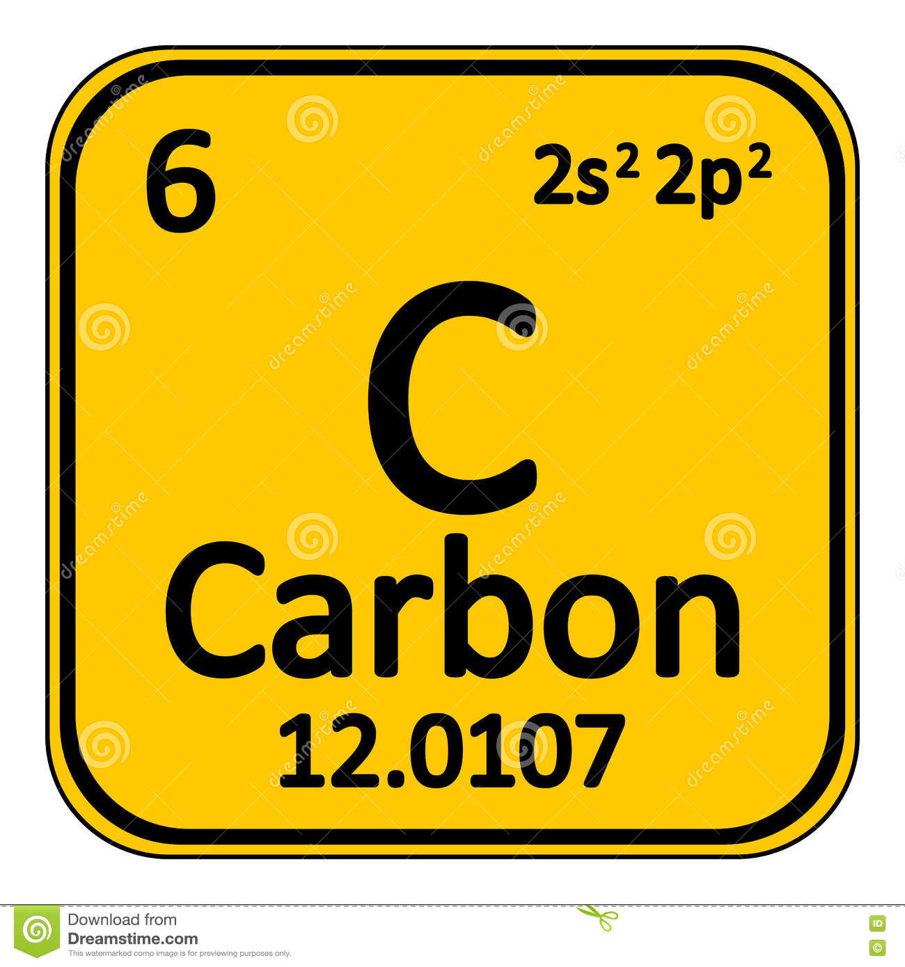Periodic table element carbon icon stock illustration image royalty free illustration download periodic table element carbon gamestrikefo Gallery