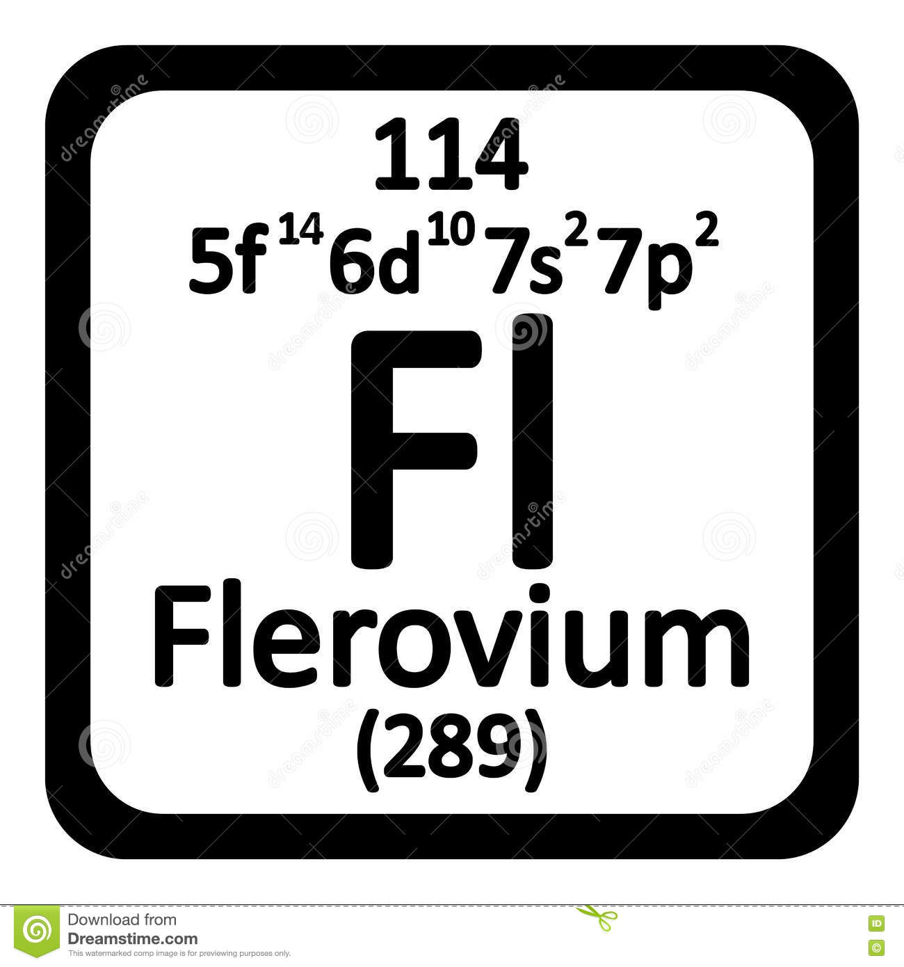 Periodic table element 114 image collections periodic table images periodic table element flerovium icon stock illustration image royalty free illustration download periodic table element gamestrikefo gamestrikefo Images