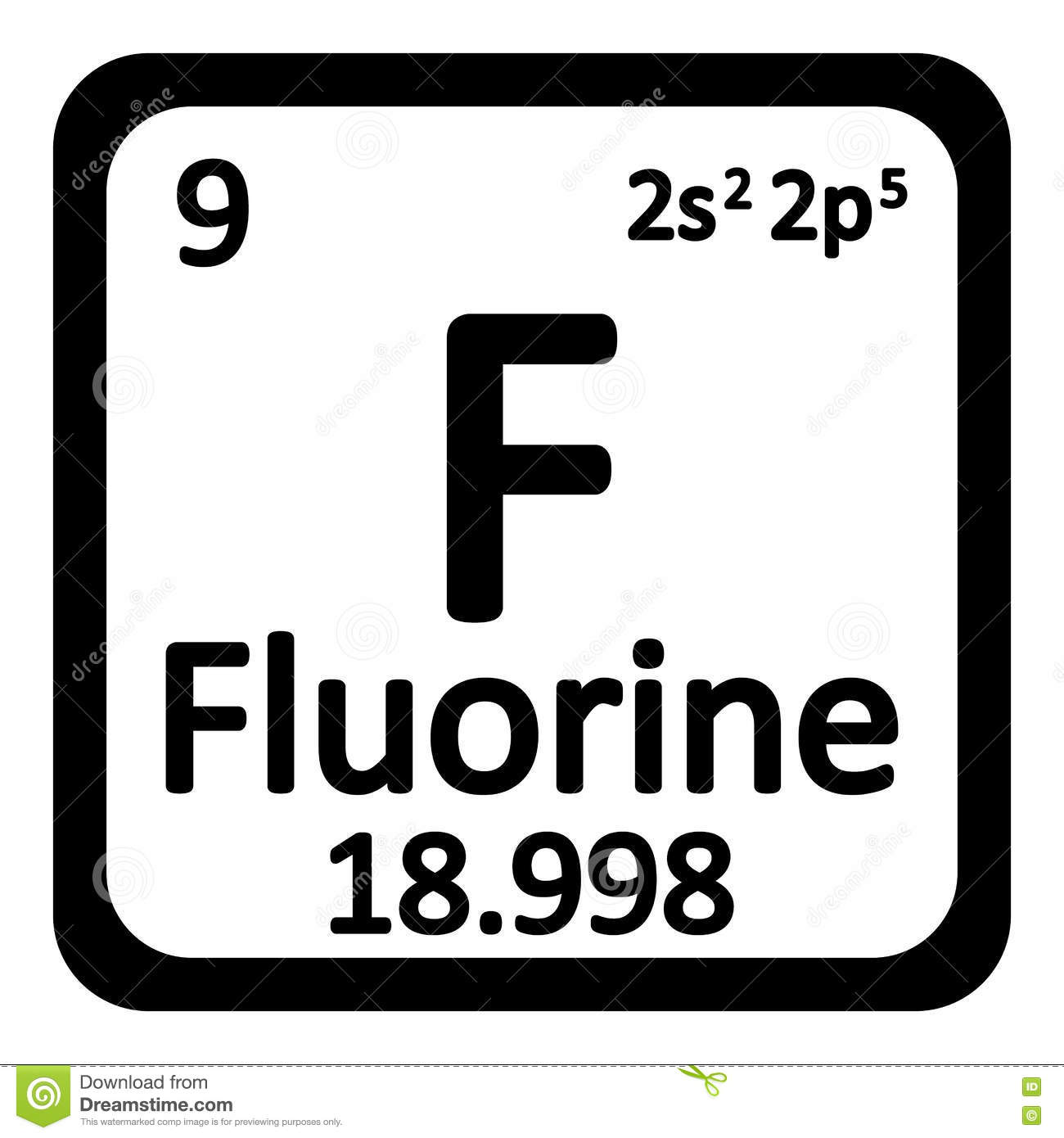 Periodic table of elements fluorine image collections periodic periodic table element fluorine icon stock illustration image periodic table element fluorine icon gamestrikefo image collections gamestrikefo Gallery