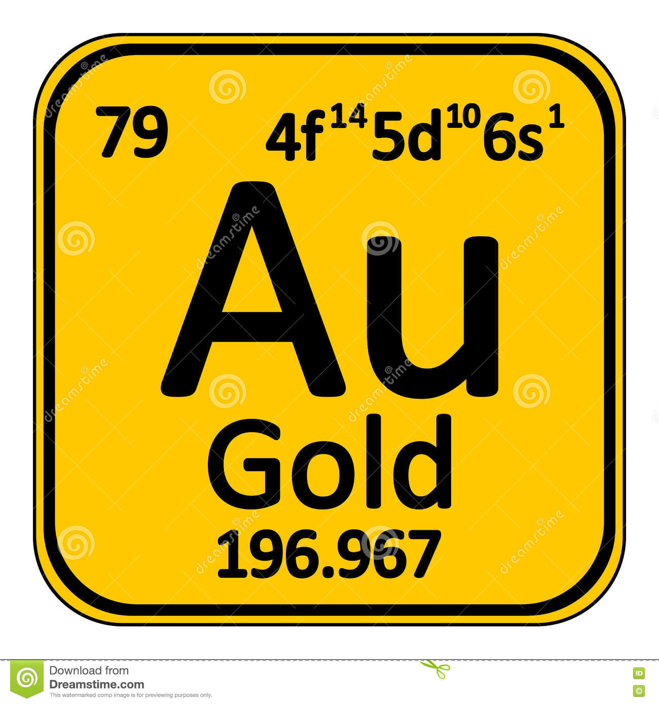 Periodic table element gold icon stock illustration image 79301375 royalty free illustration download periodic table element gold gamestrikefo Images