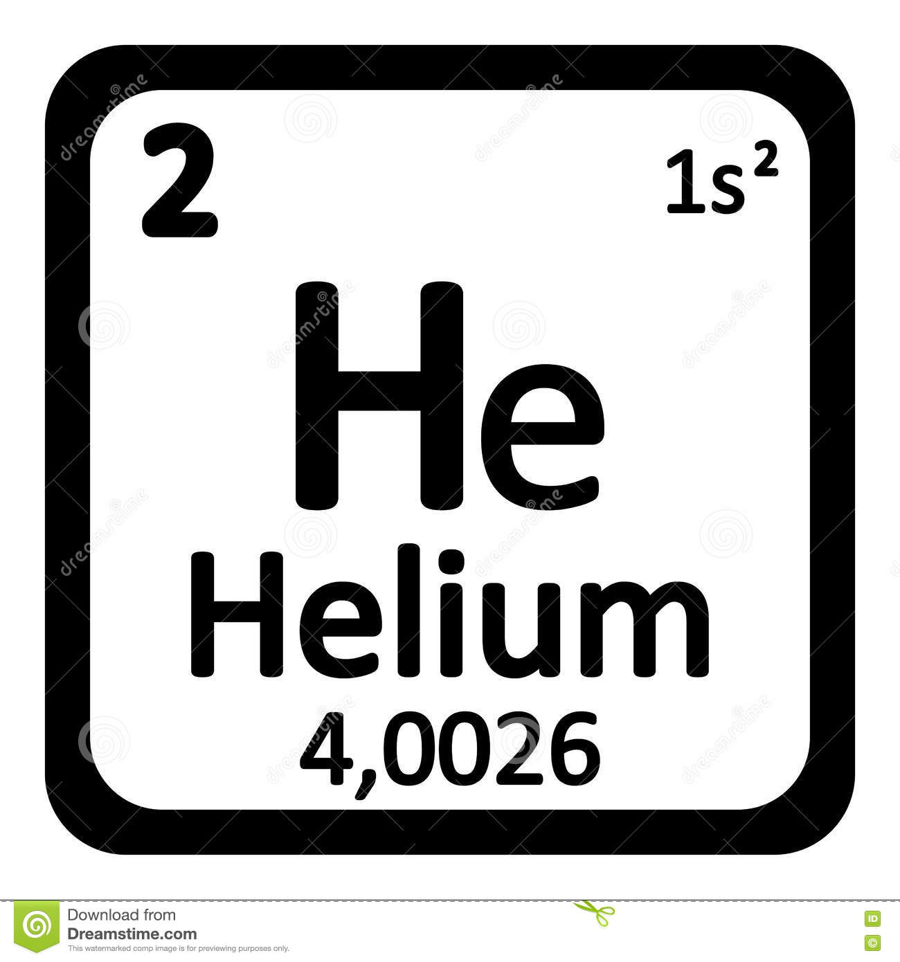 Periodic table element helium icon stock illustration periodic table element helium icon buycottarizona