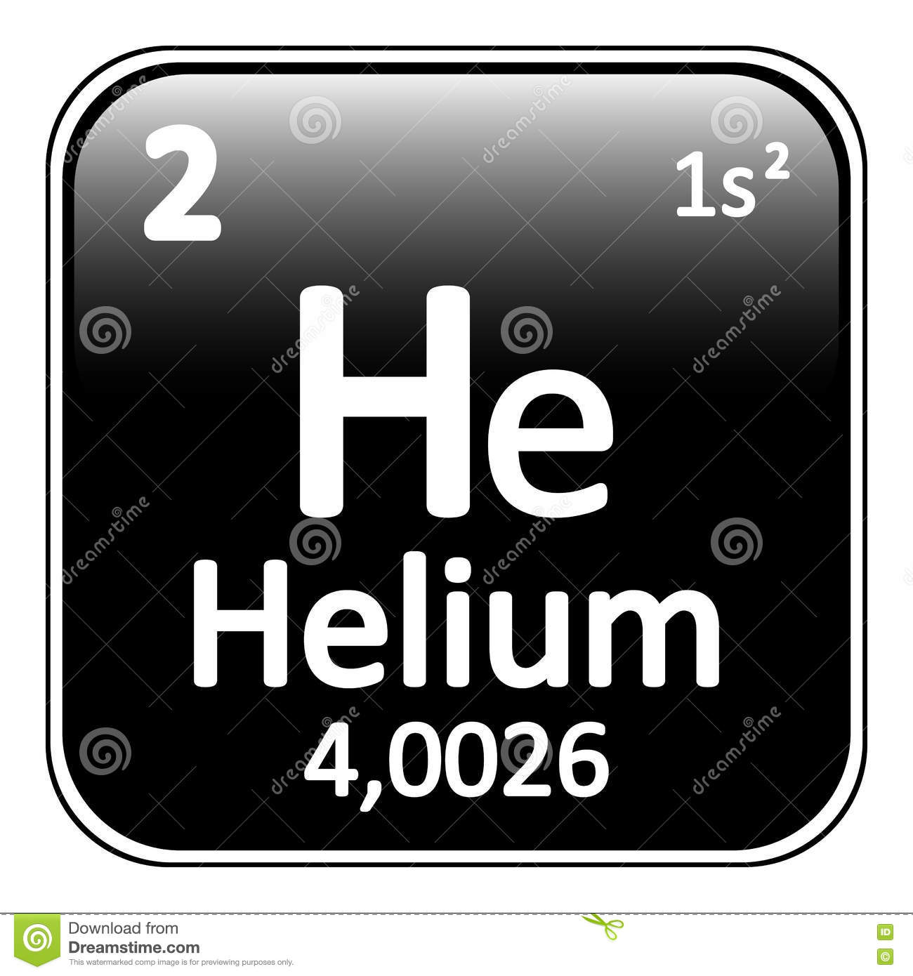 Periodic table element helium icon stock illustration image royalty free illustration download periodic table element helium gamestrikefo Images