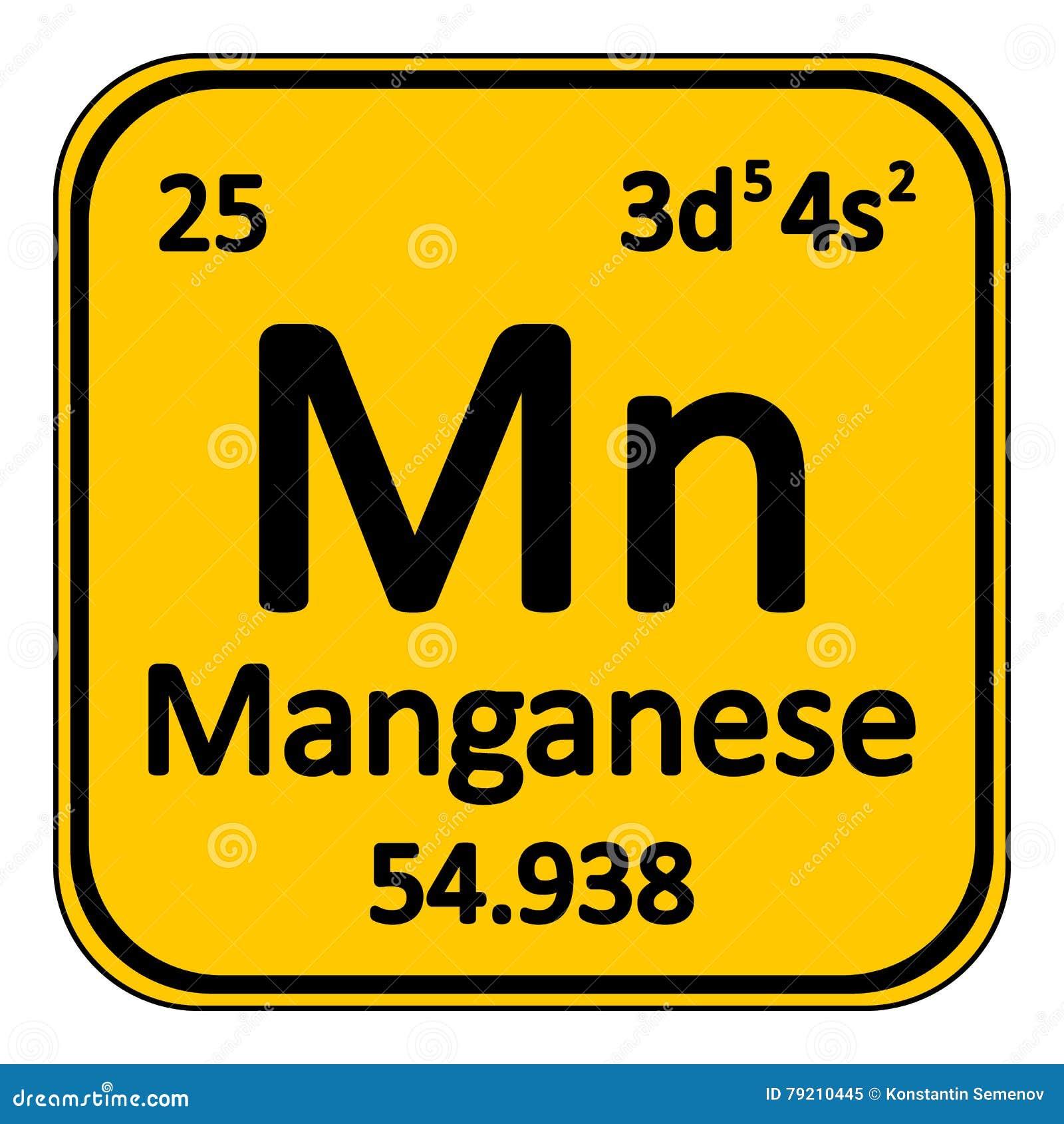 Periodic table element manganese icon stock illustration image periodic table element manganese icon gamestrikefo Images