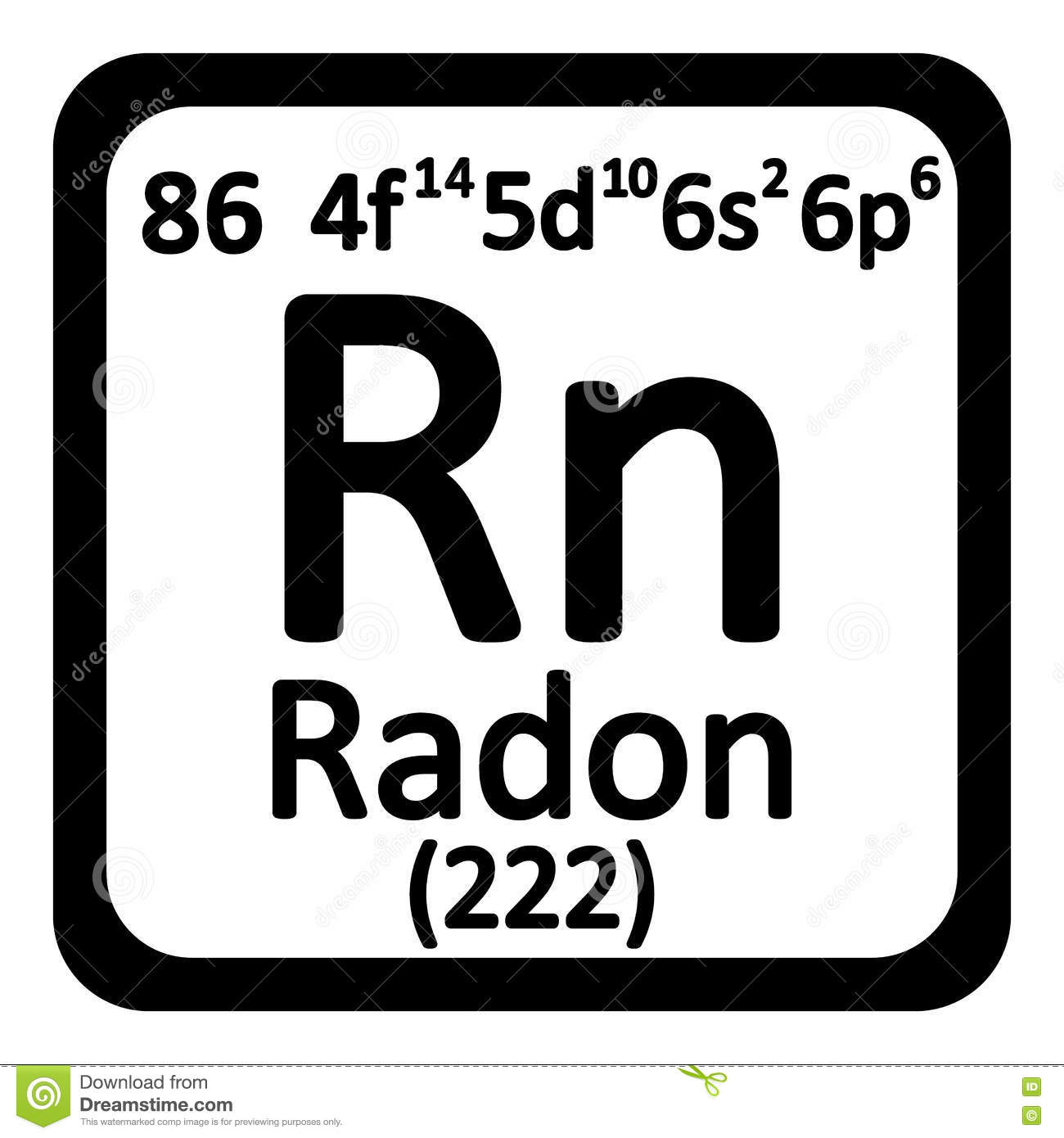 Radon symbol periodic table images periodic table images periodic table element radon icon stock illustration image royalty free illustration download periodic table element radon gamestrikefo Images