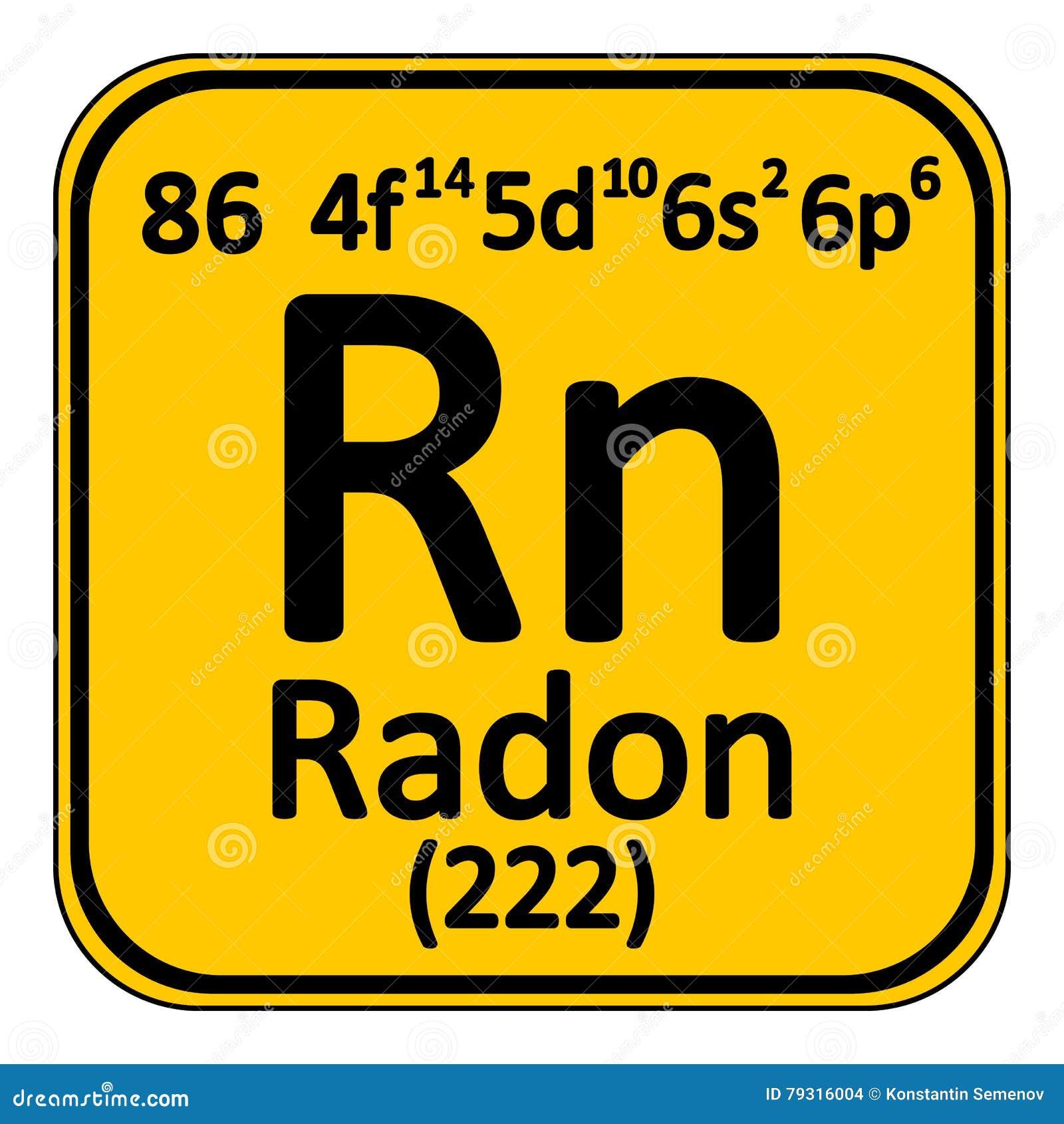Periodic table element radon icon stock illustration image periodic table element radon icon gamestrikefo Images