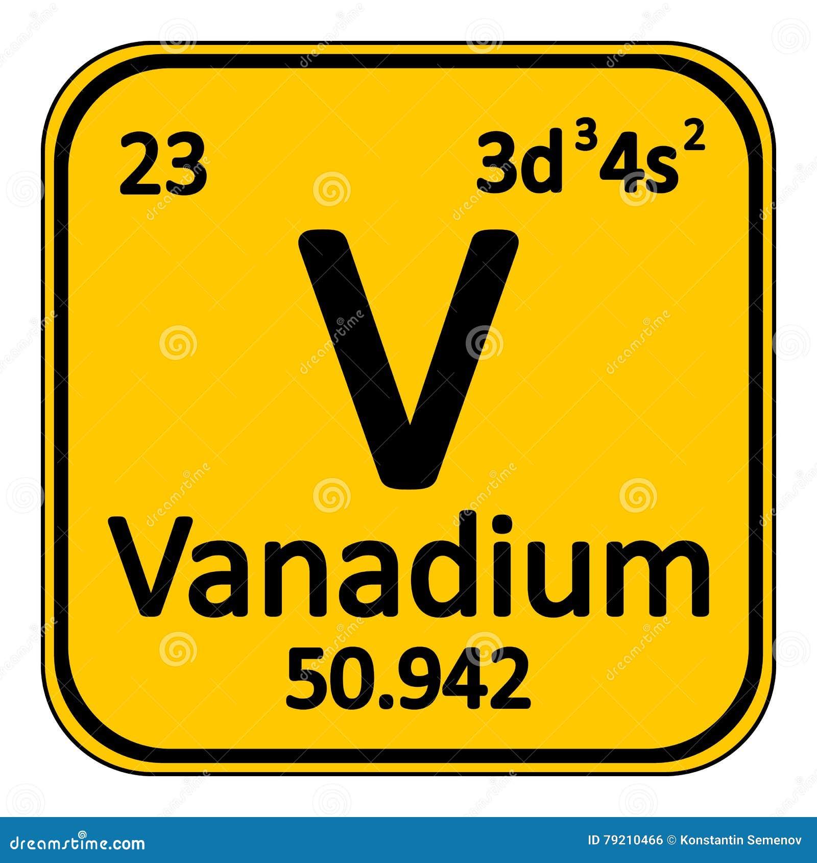Periodic table element vanadium icon stock illustration image royalty free illustration download periodic table gamestrikefo Images