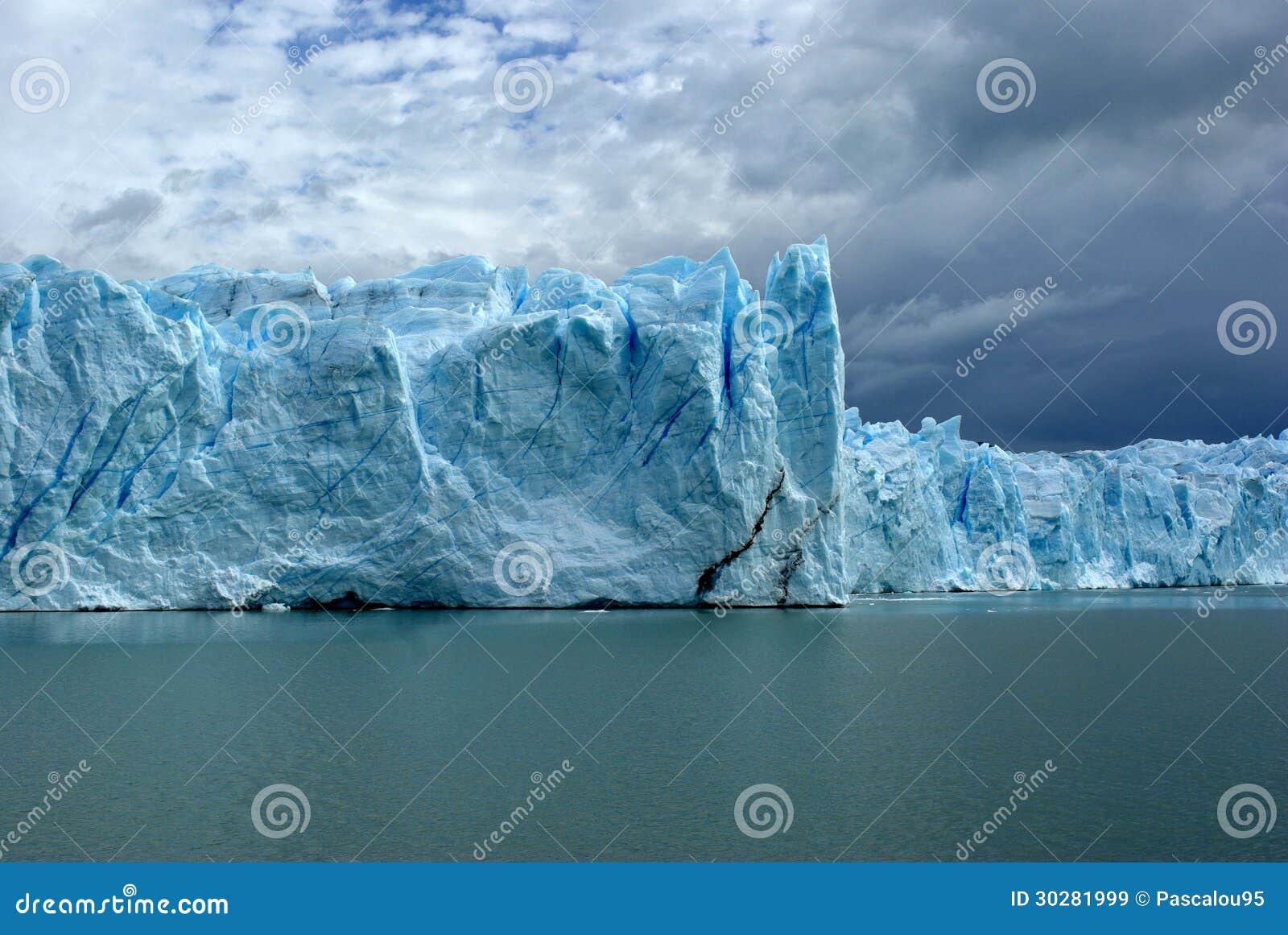 Perito莫尔诺冰川,阿根廷