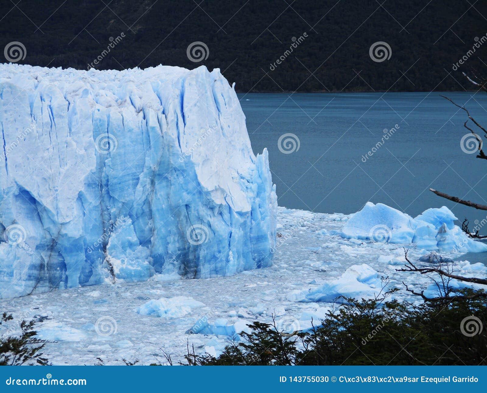 Perito Moreno lodowa widok