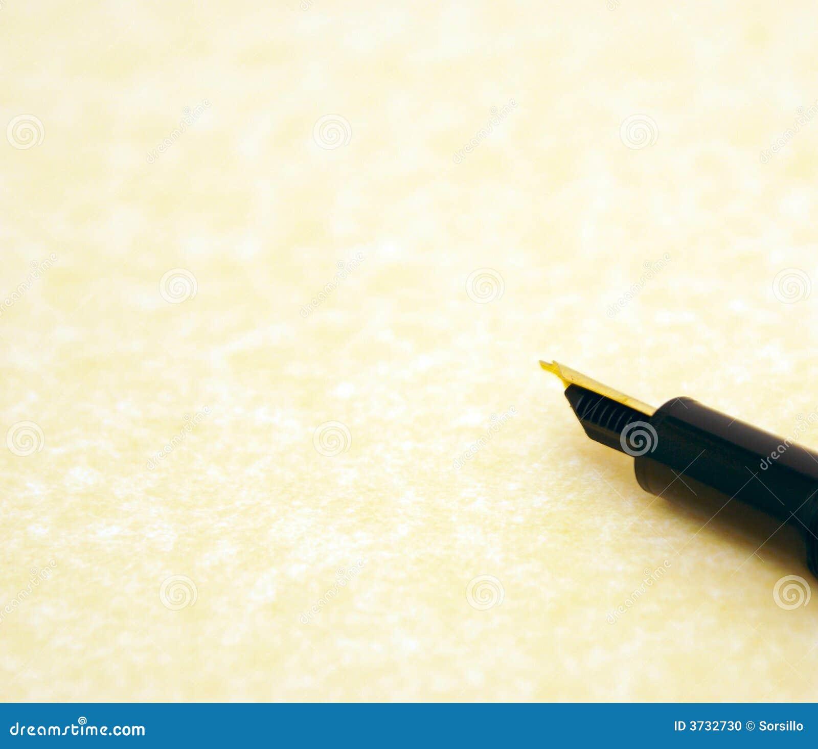 Perkament en pen