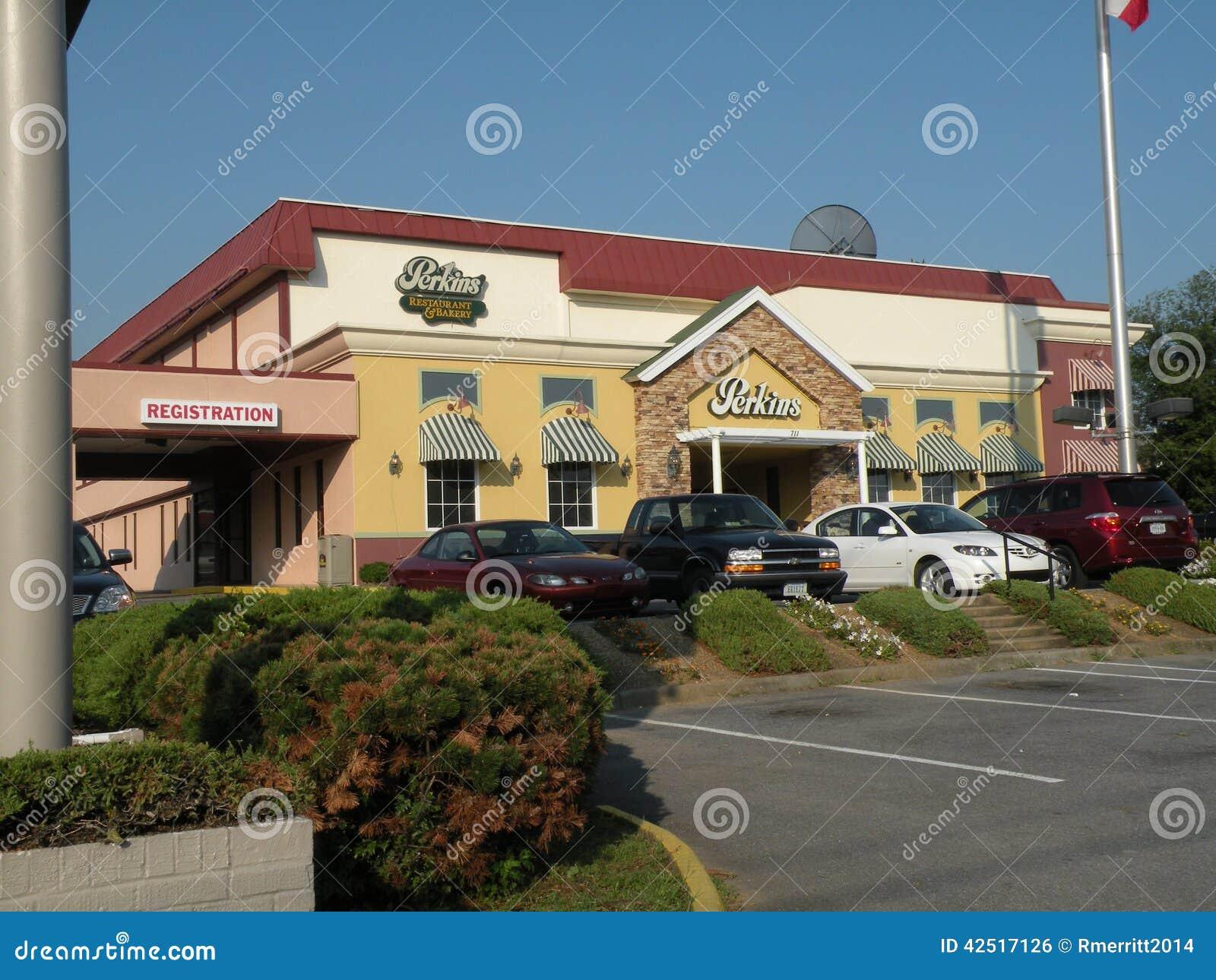 Perkins restaurant editorial photo image of january for Best western lee s motor inn