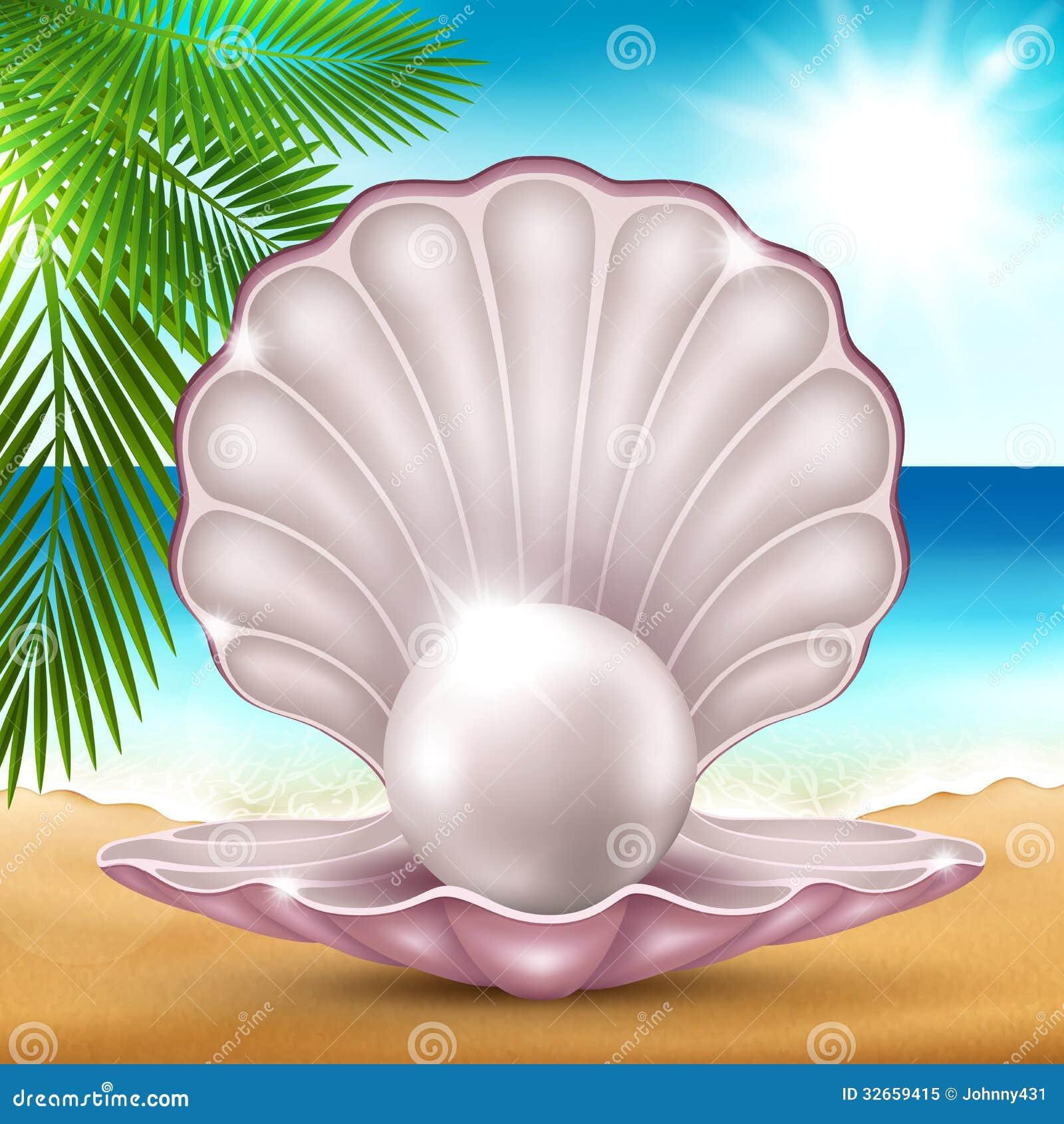 Perla sulla sabbia