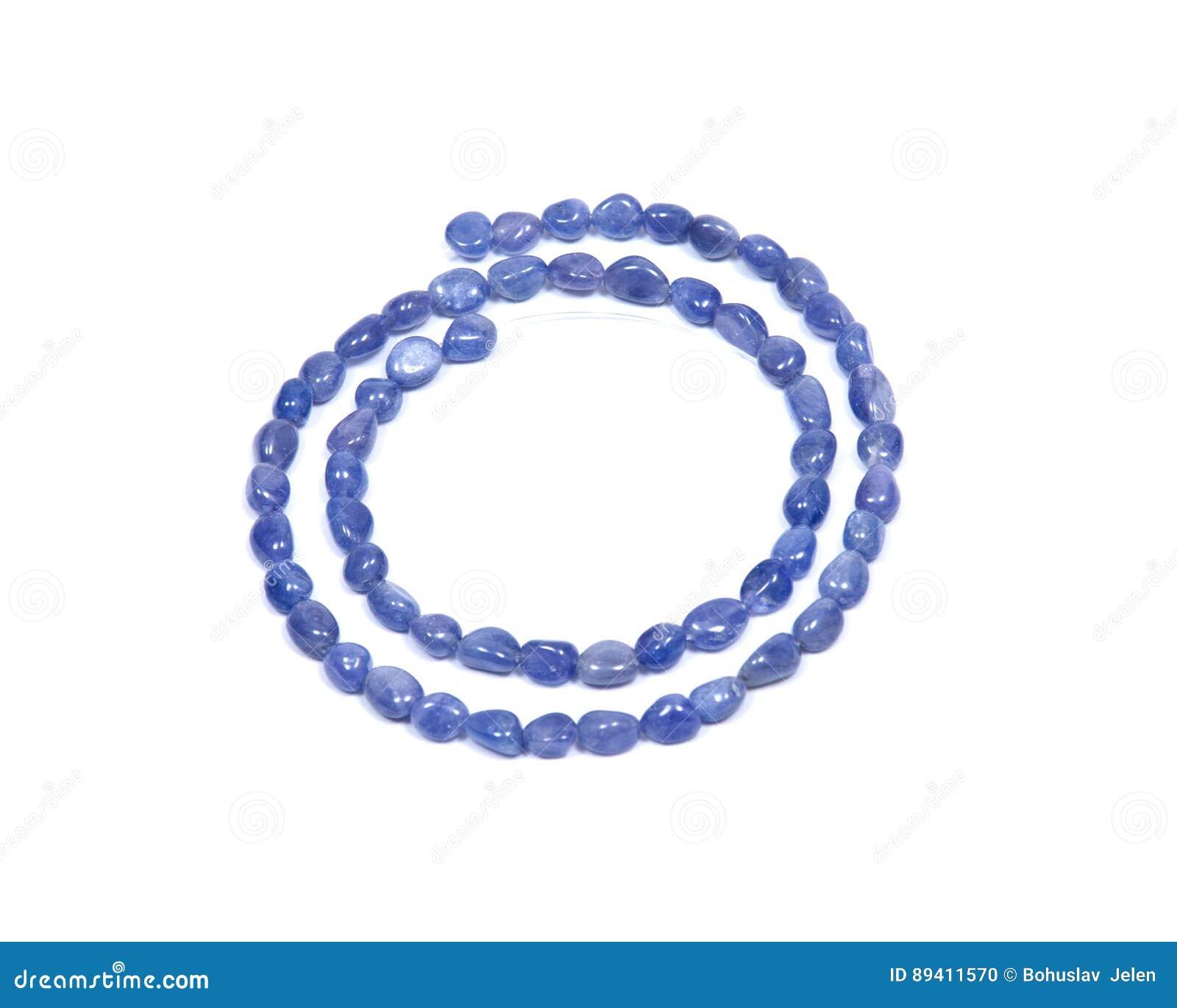 Perle di qualità extra di Tanzanite