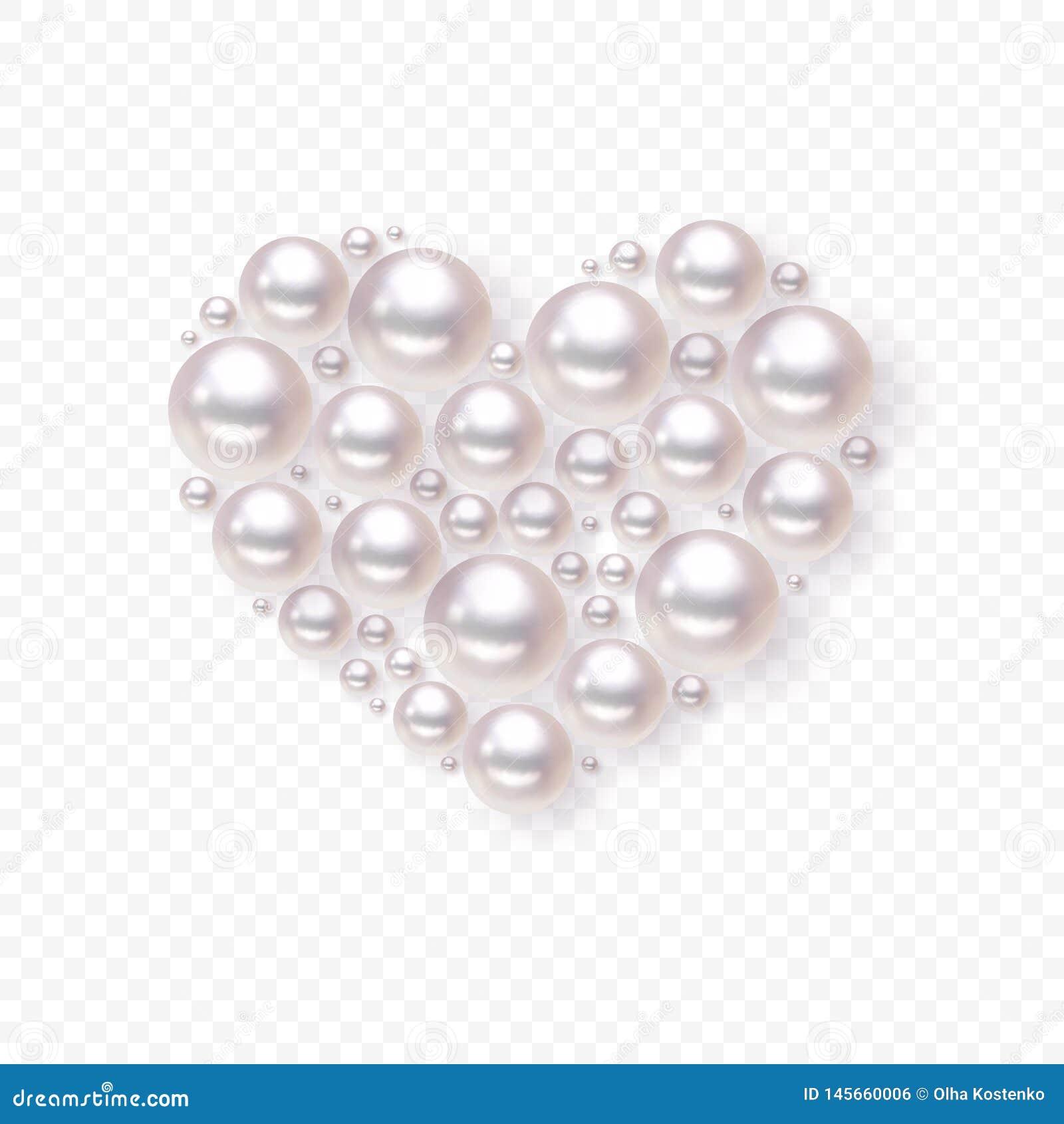 Perlenherzvektor