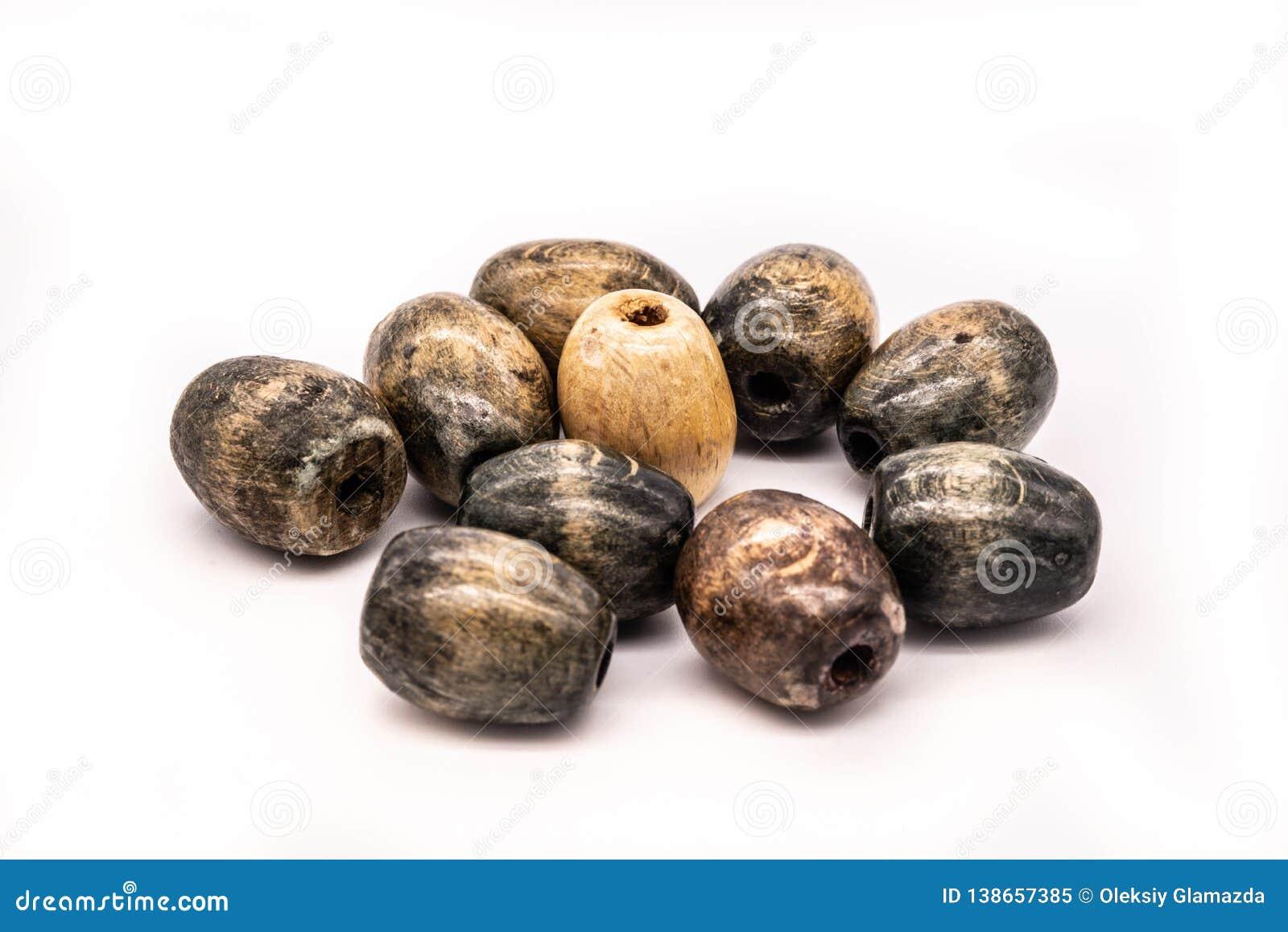 Perles en bois pour les articles fabriqués à la main à la main