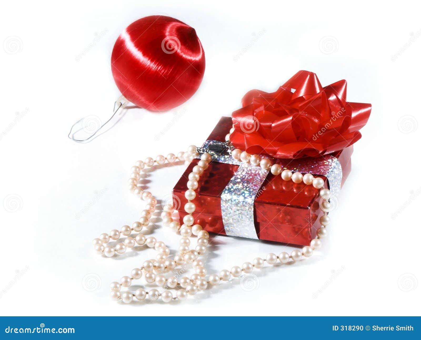 Perles et présent