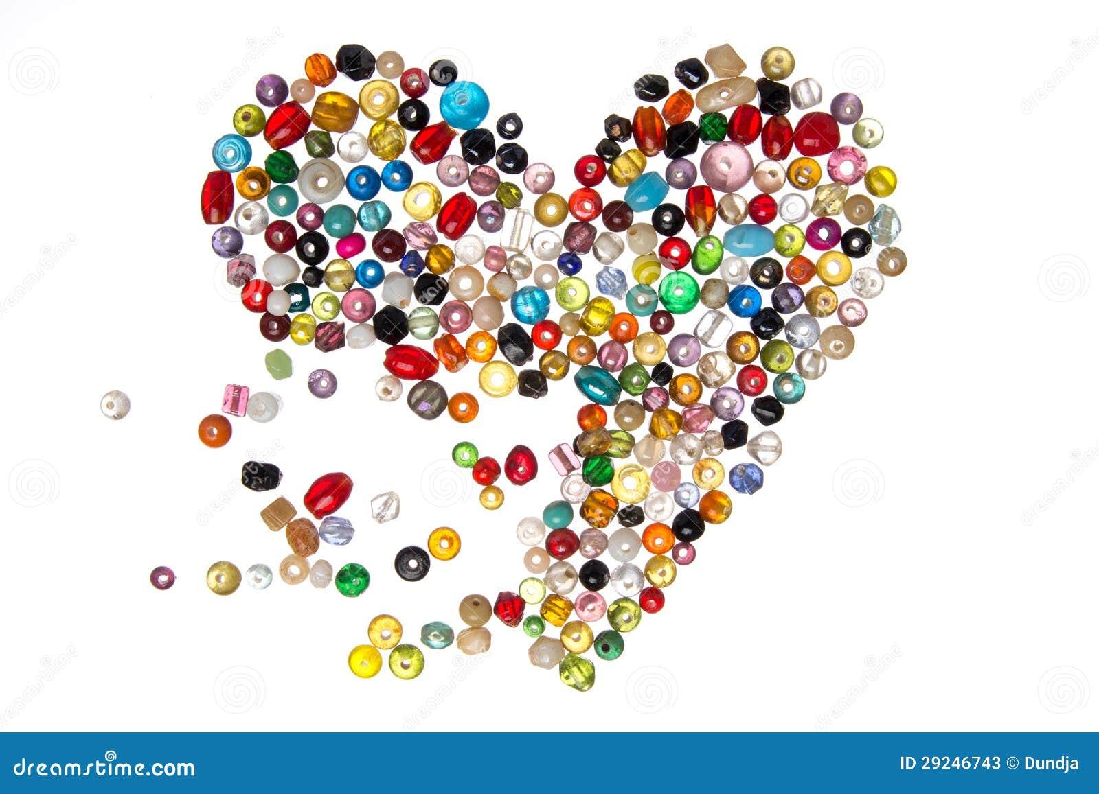 Download Peroliza O Coração Que Quebra Distante Imagem de Stock - Imagem de puro, brilhante: 29246743