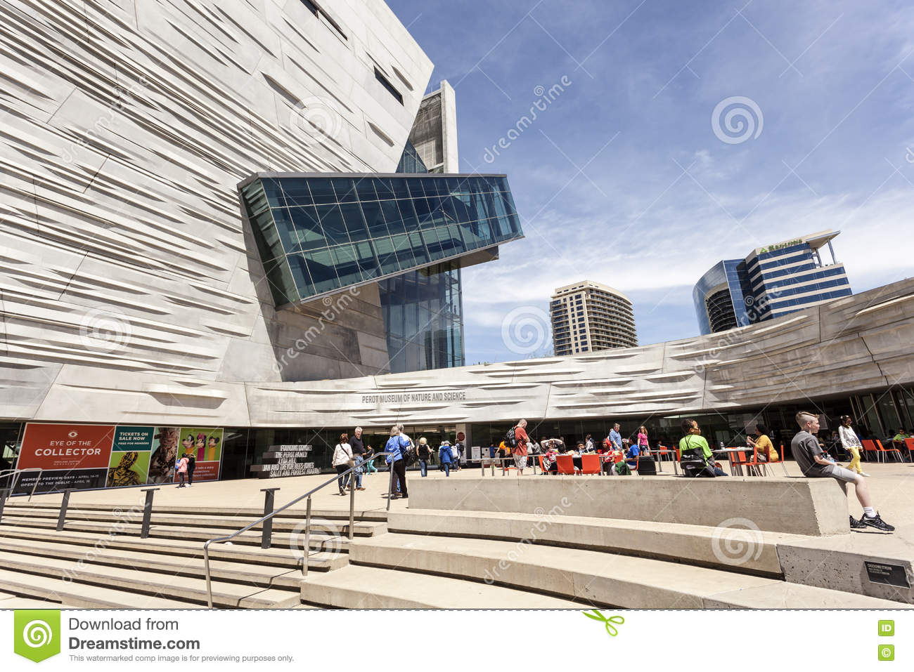 Perot Museum Of Nature And Science Dallas Tx