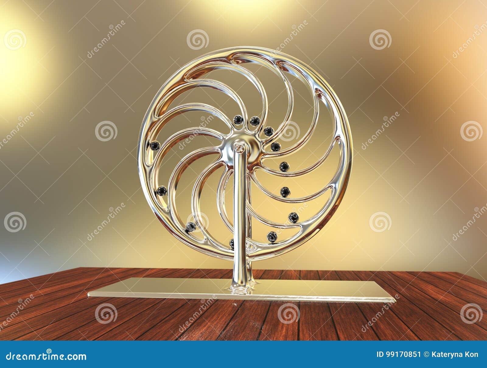 Perpetual Motion Machine, Perpetuum Mobile Stock ...