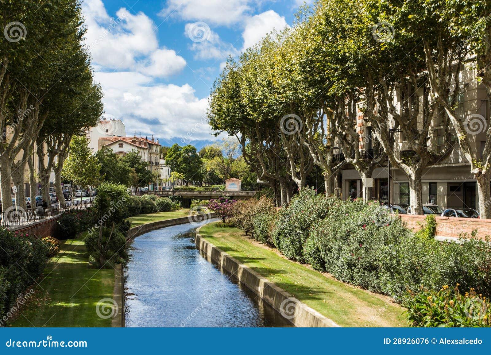 Perpignan rzeka