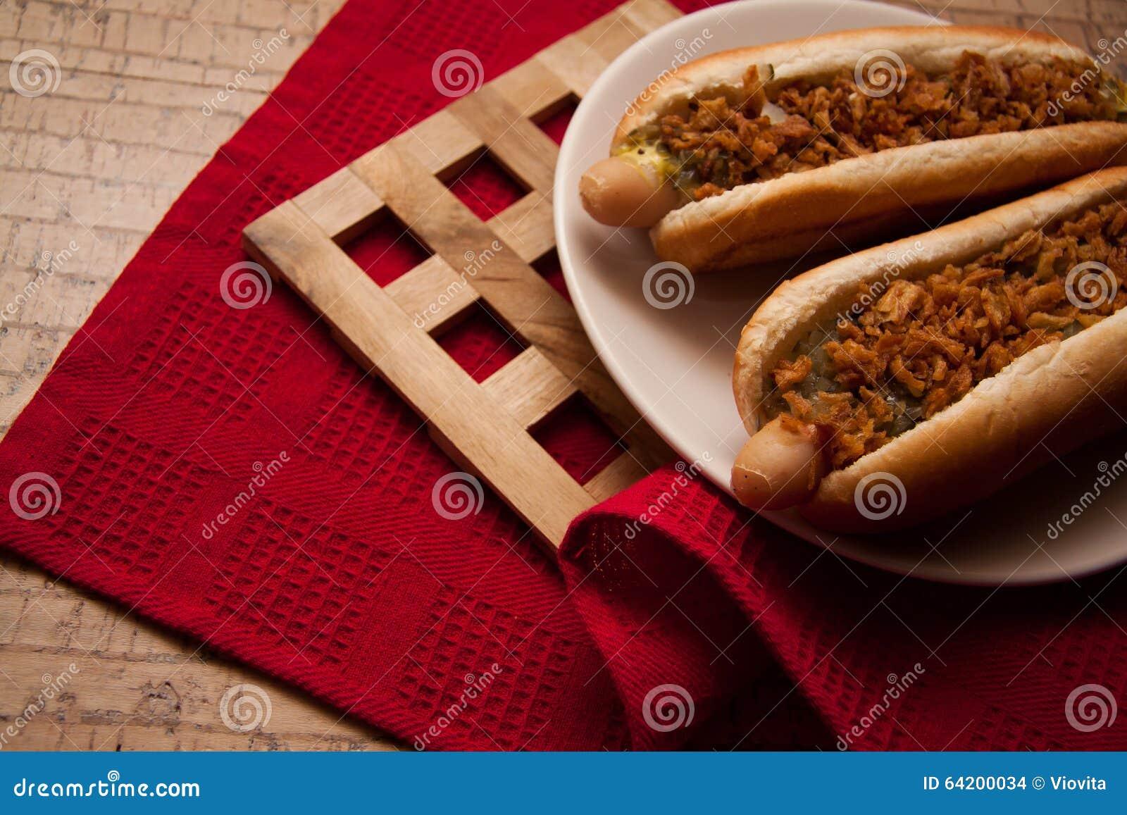 Perritos calientes deliciosos