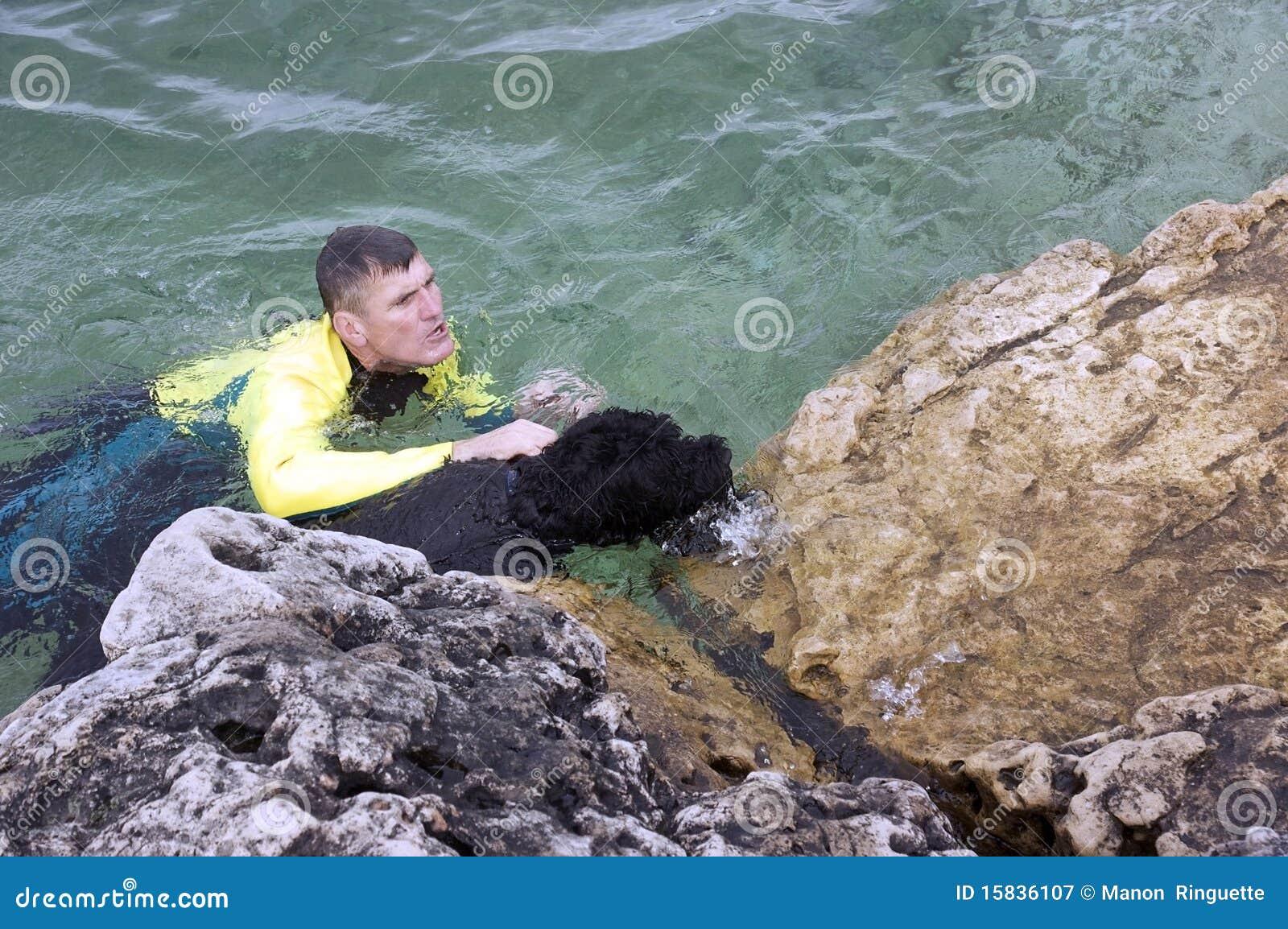 Perro de agua al rescate