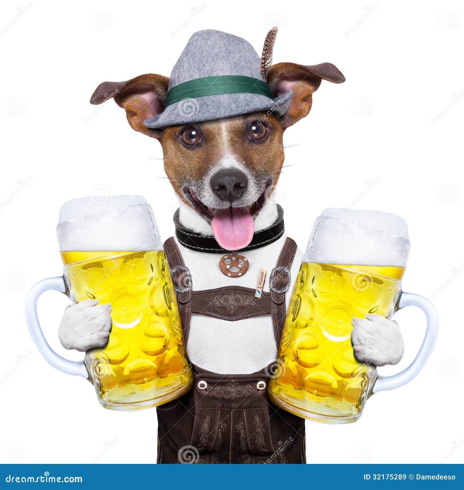 Perro de Oktoberfest