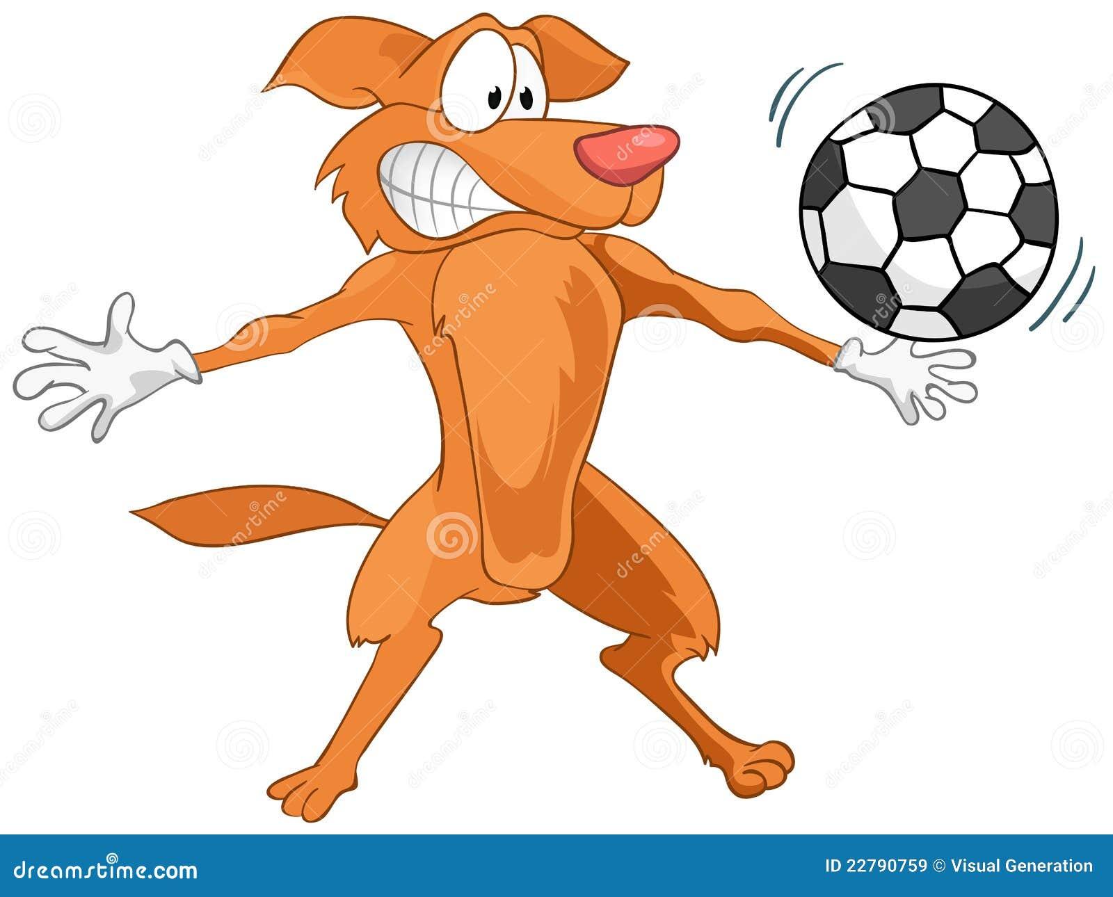 Perro del personaje de dibujos animados