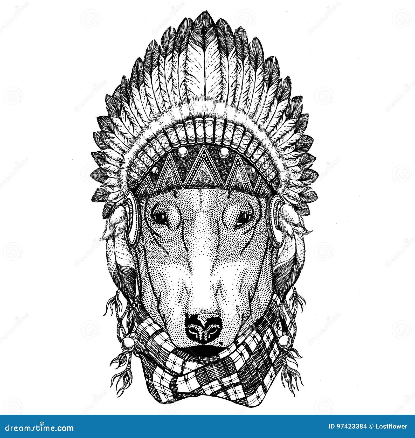 PERRO Para El Animal Salvaje Del Diseño De La Camiseta Que Lleva El ...