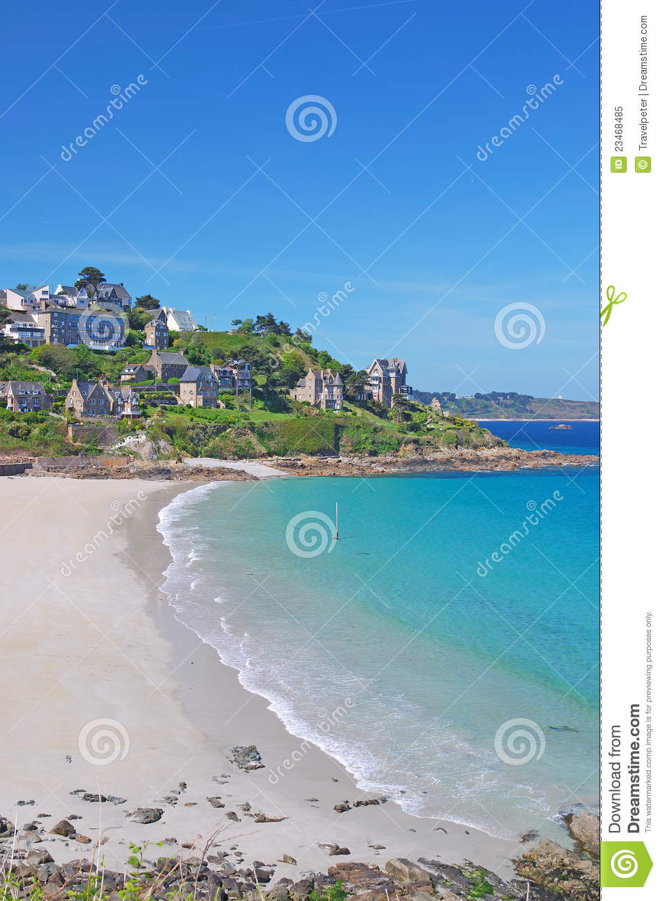 Perros-Guirec France  city photos gallery : Perros Guirec,Brittany,Bretagne,France Royalty Free Stock Photo ...