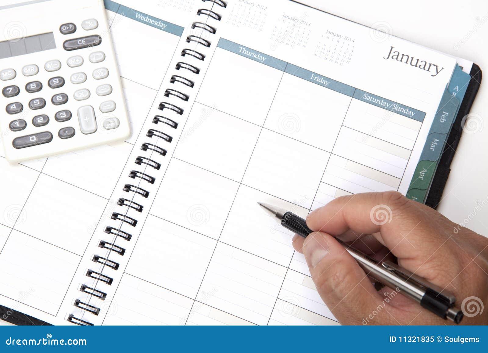 Persönlicher Organisator des Kalender-2010