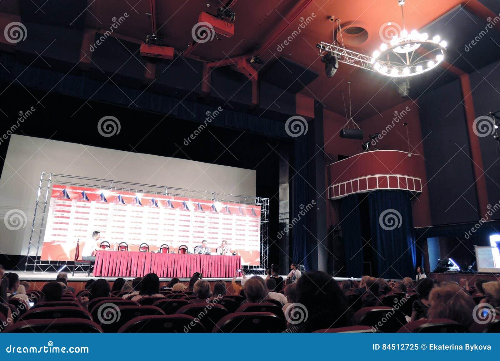 Persconferentie Van Internationaal De Filmfestival Van