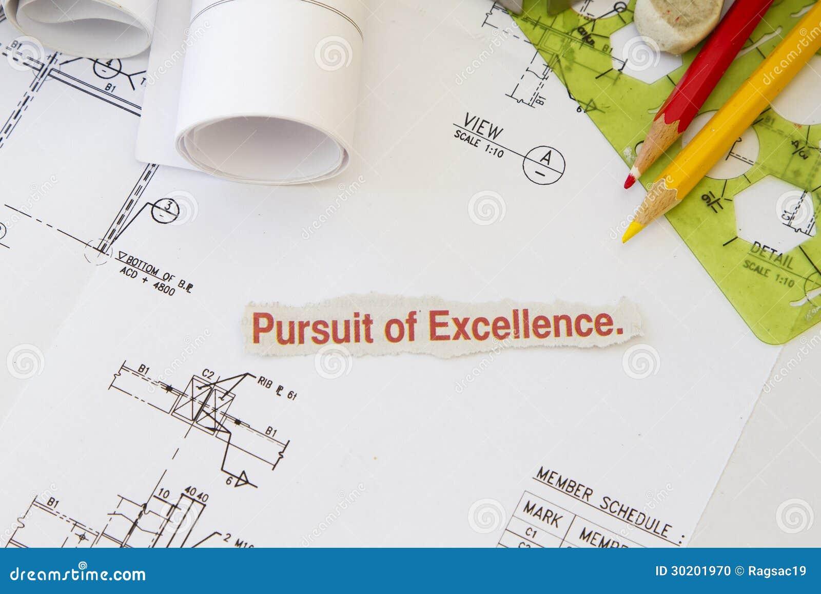 Perseguição da excelência