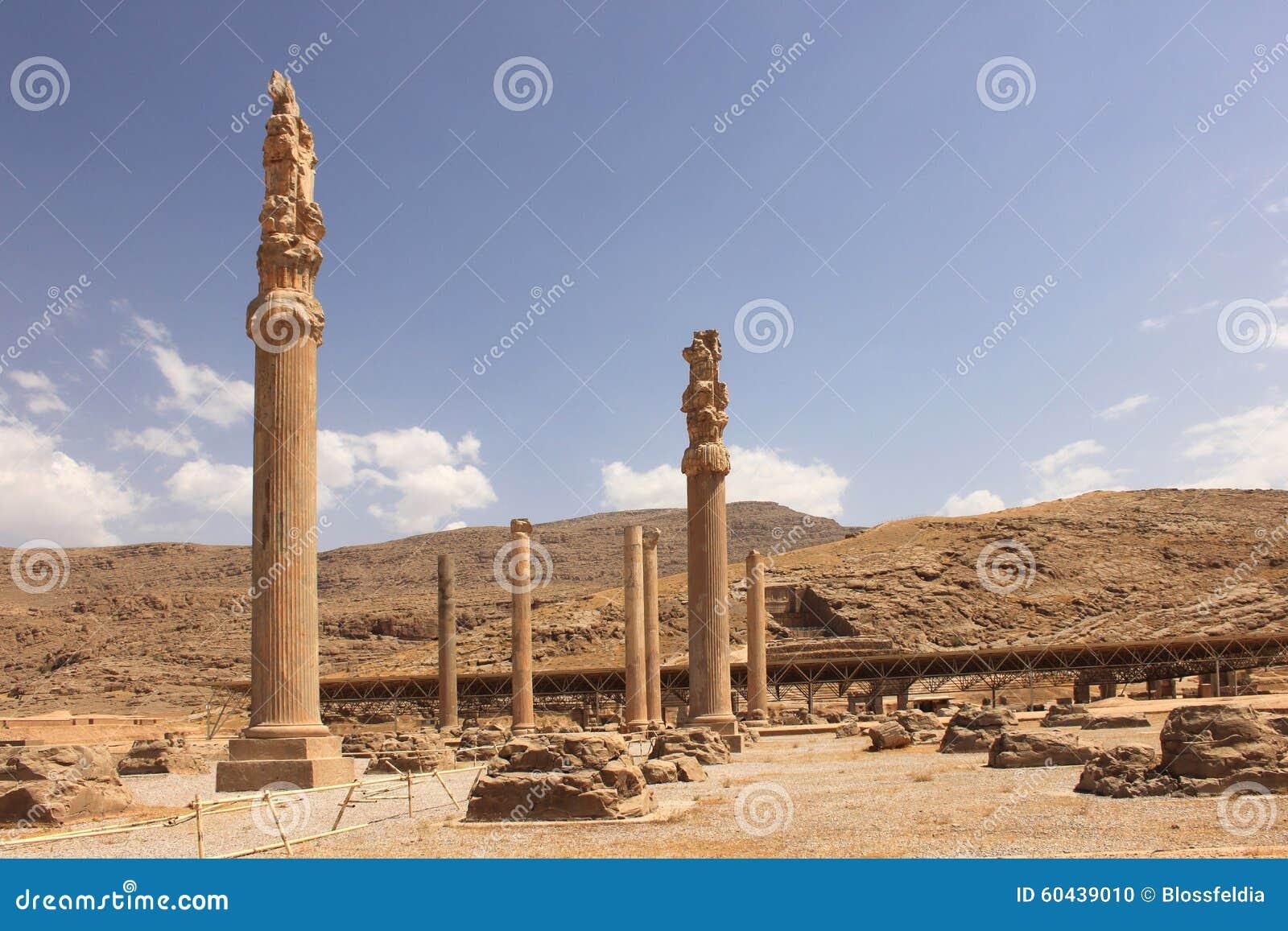 Persepolis Iran Stock Photo Image Of Bearing Head 60439010