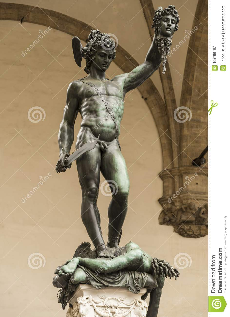 Perseus With The Head Of Medusa Stock Image Image Of