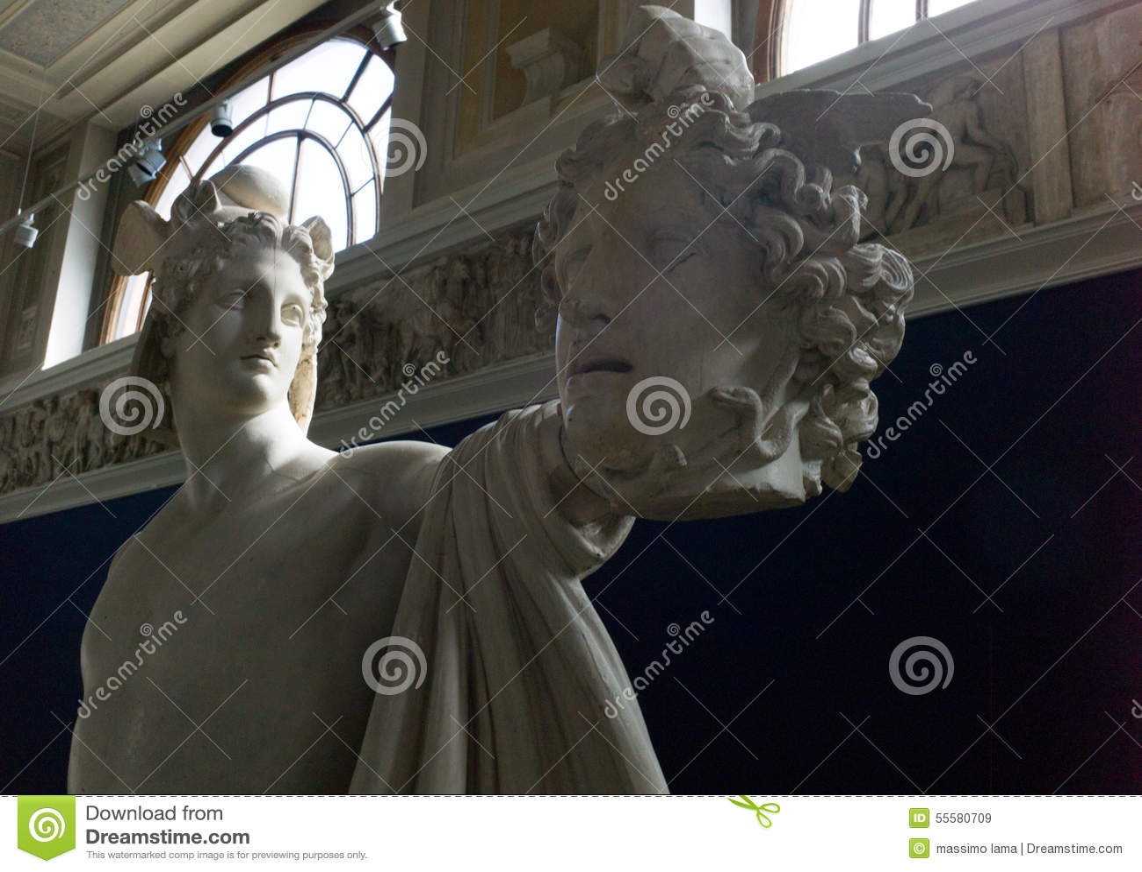 Imagen De Medusa: Perseus Y Medusa Imagen De Archivo Editorial