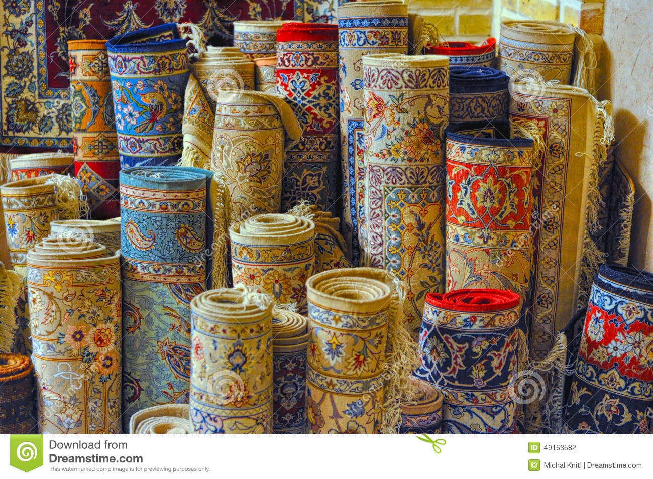 Persian Carpets Stock Photo Image Of Colored East