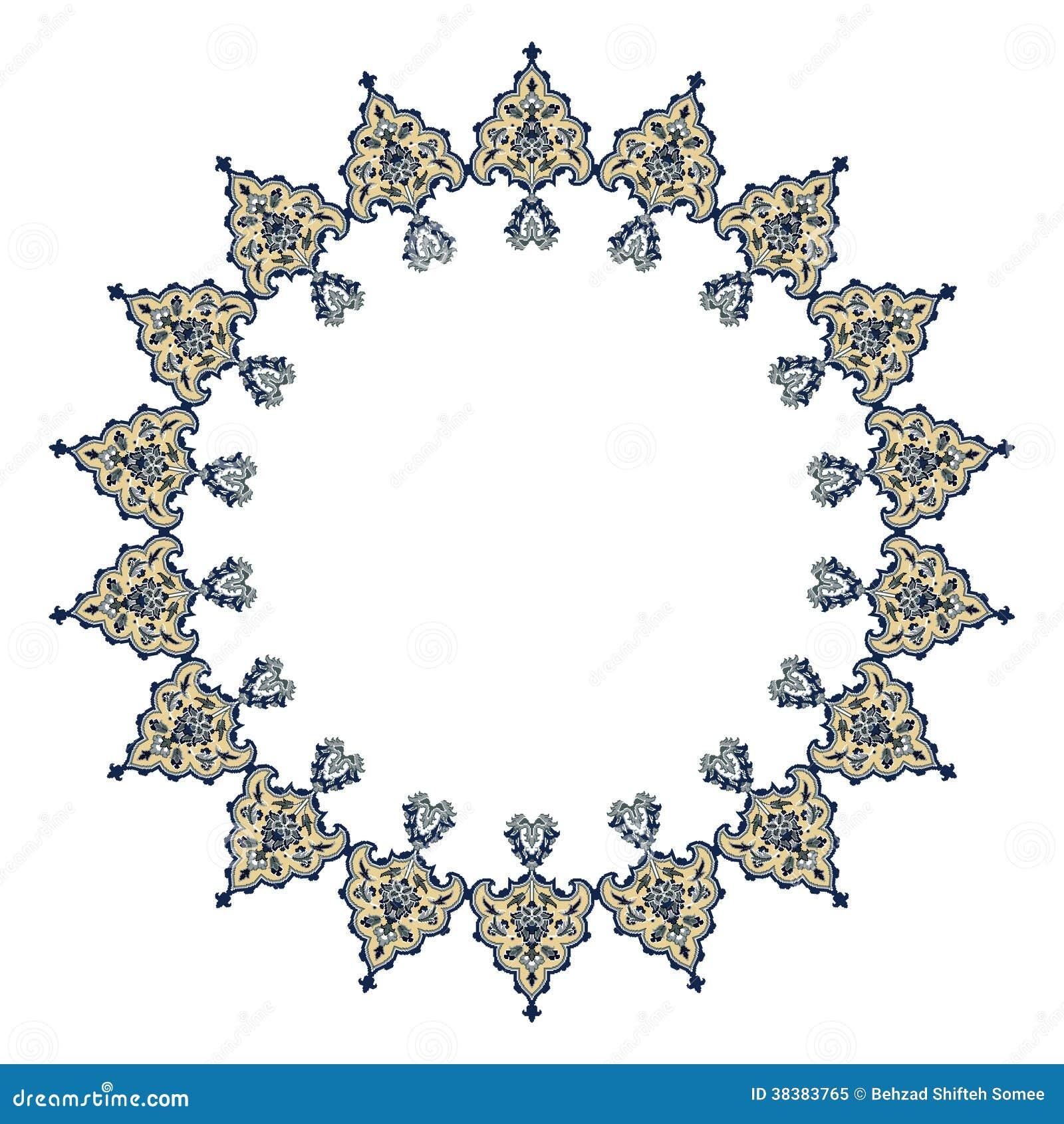 Persian Motif Design Royalty Free Stock Photo - Image: 38383765
