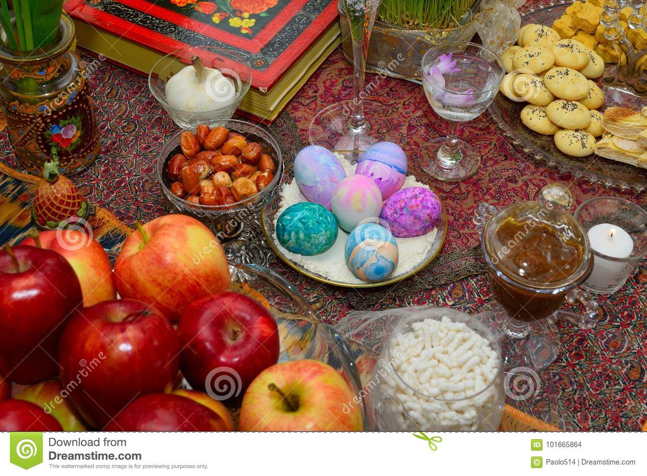 Persian New Year Table Nowruz