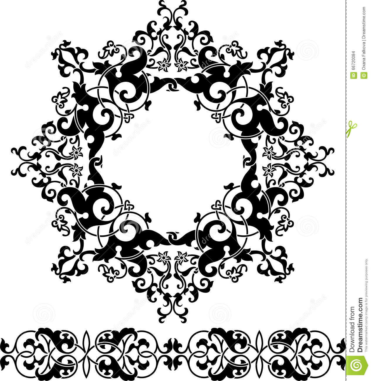 Persian Ornament Stock Vector Illustration Of Decorative