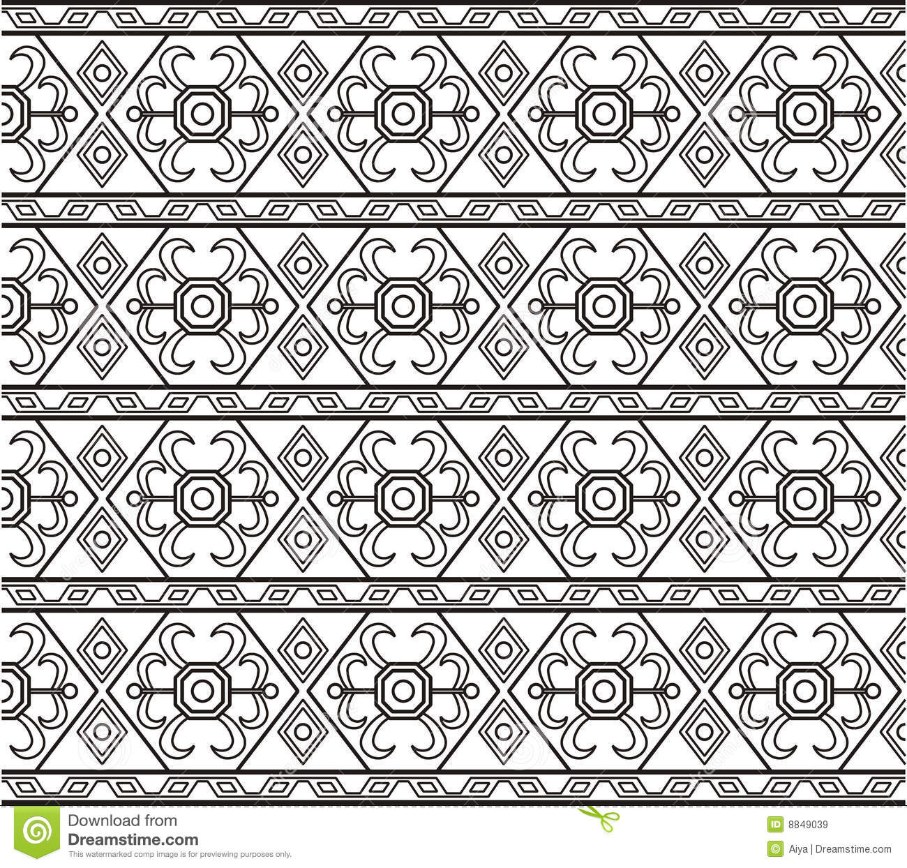 Persian Patterns: Persian Pattern Stock Vector. Image Of Persian, Flower