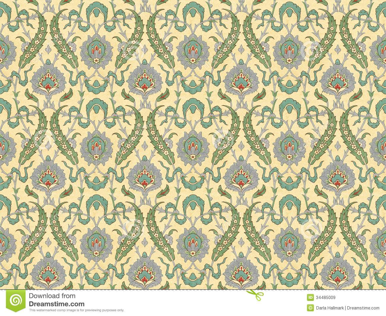 Persian Pattern Royalty Free Stock Images Image 34485009