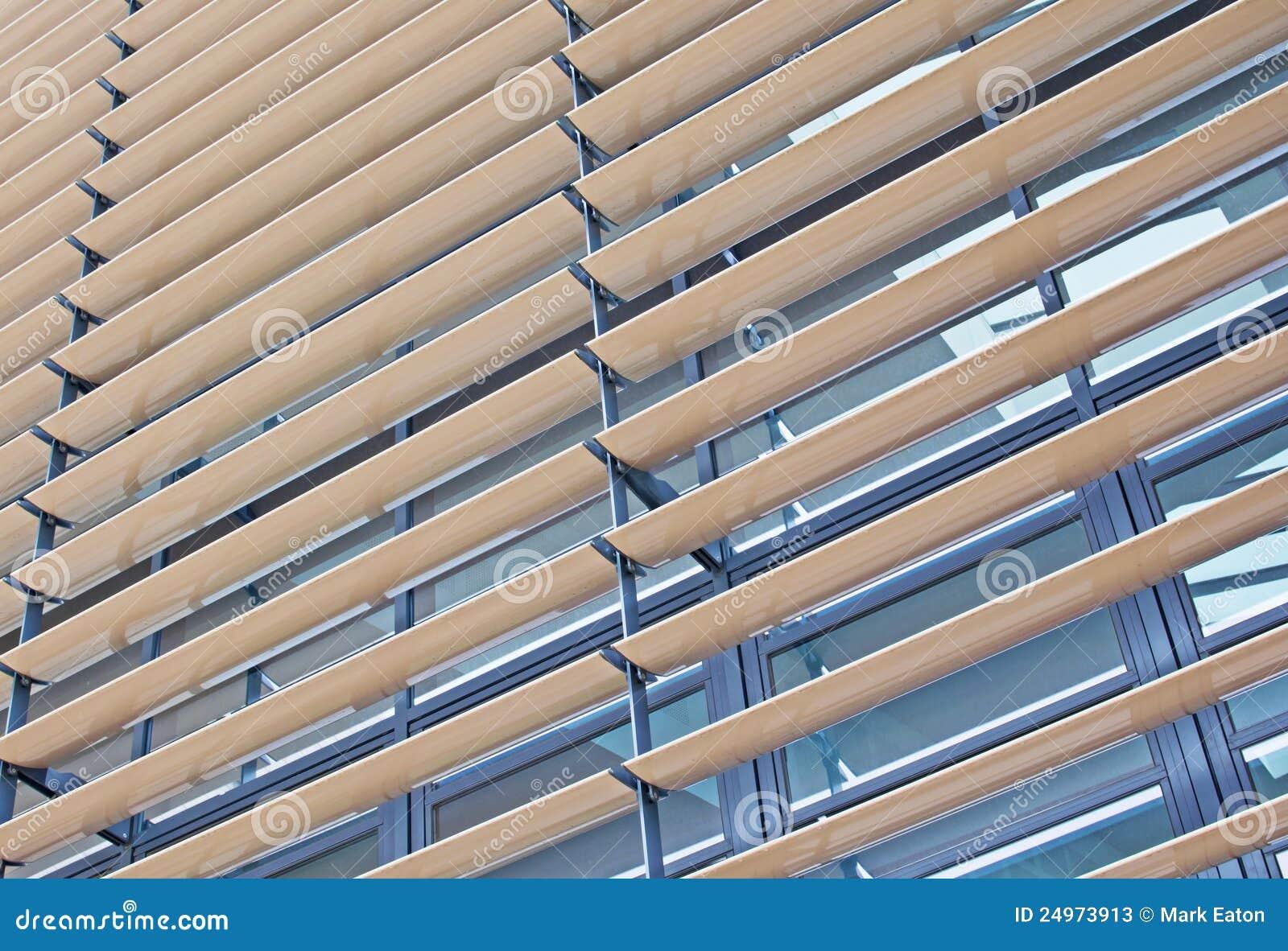 persianas del metal y de madera imagen de archivo imagen