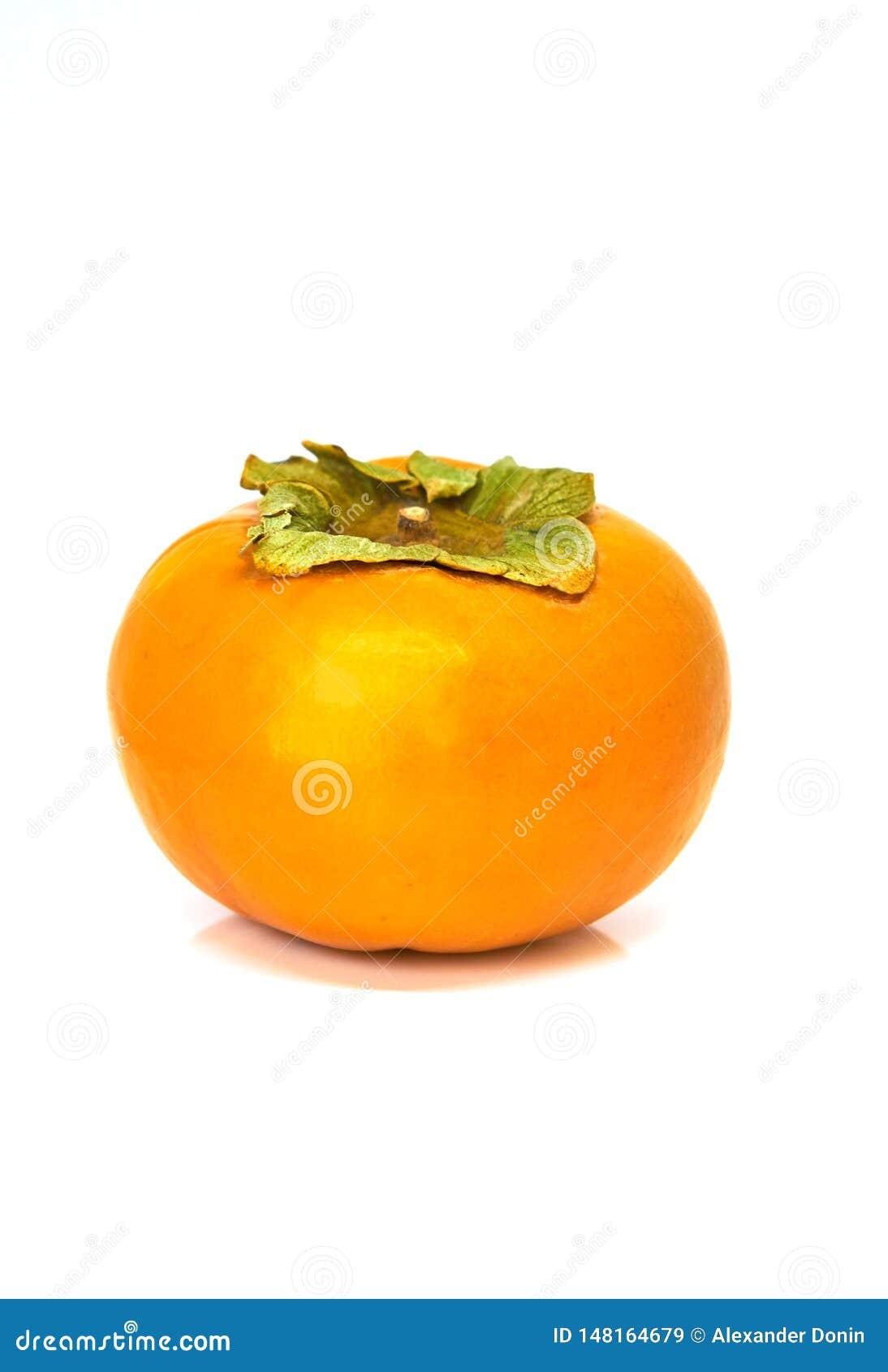 Persimmon owoc odizolowywaj?ca na bielu