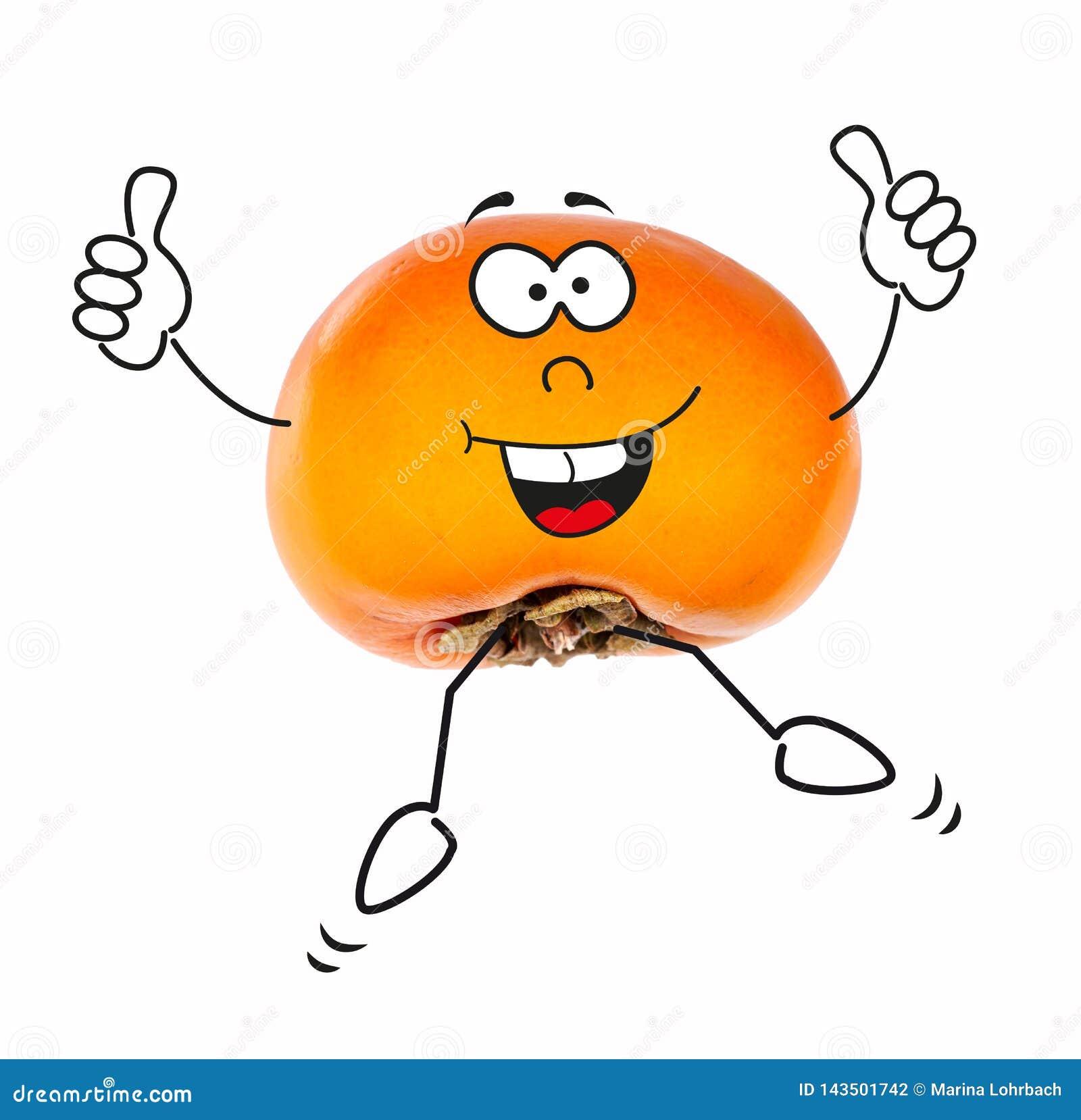 Persimmon z postaciami z kreskówki