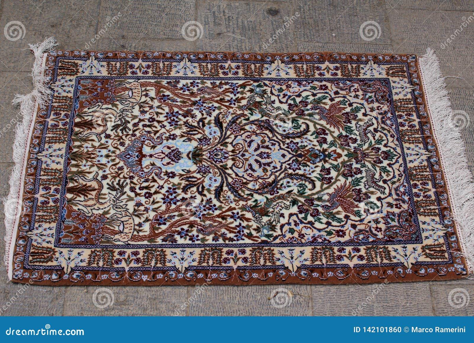 Perski dywan w Nain, Iran