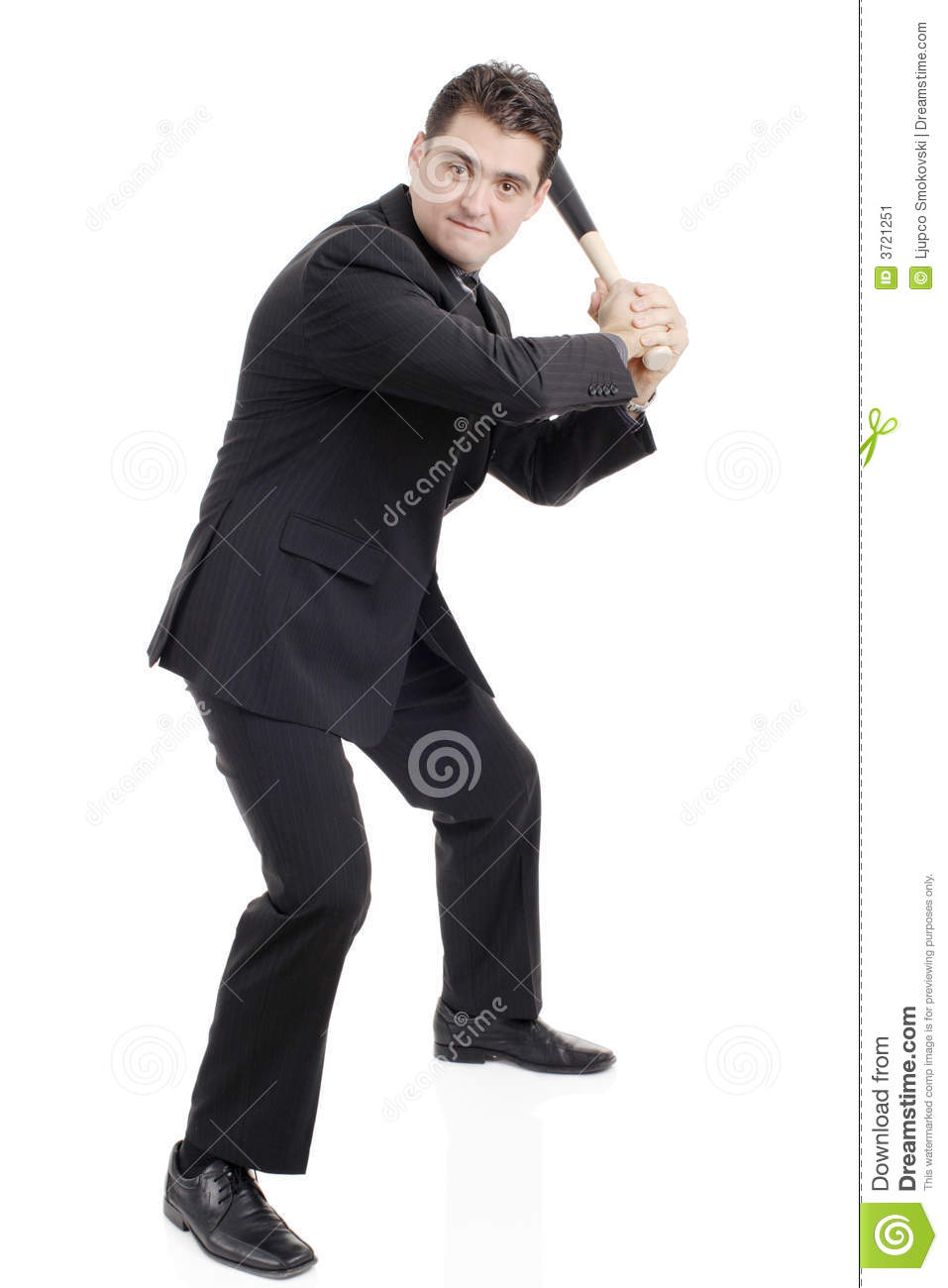 person with a baseball bat stock image  image of