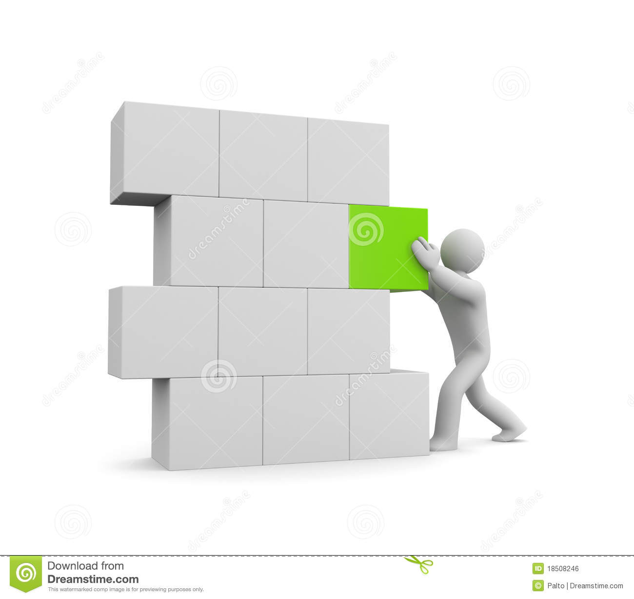 person build wall image contain clipping path royalty free stock image build wall