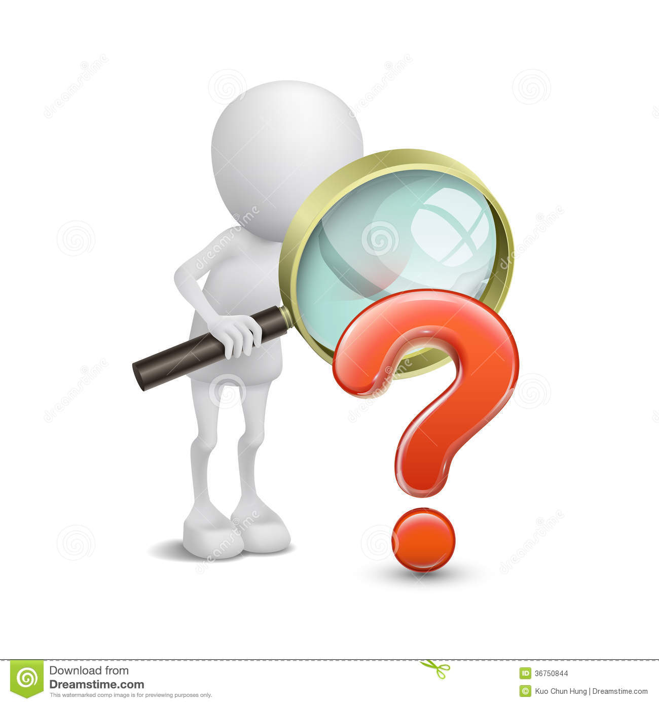 Question Person Clipart